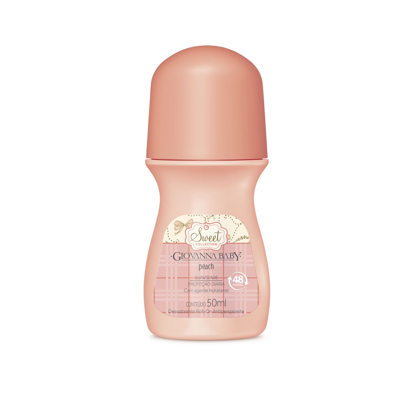 Desodorante Giovanna Baby Roll on Peach 50ml