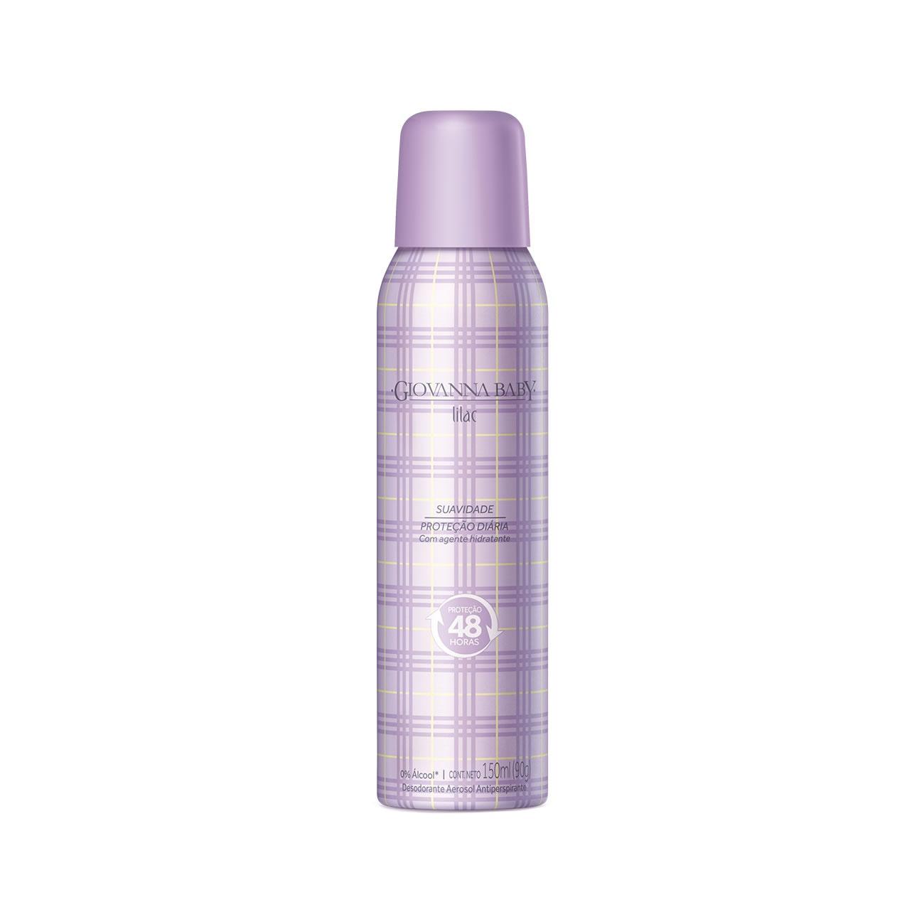 Desodorante Giovanna Baby Aero Lilac 150Ml
