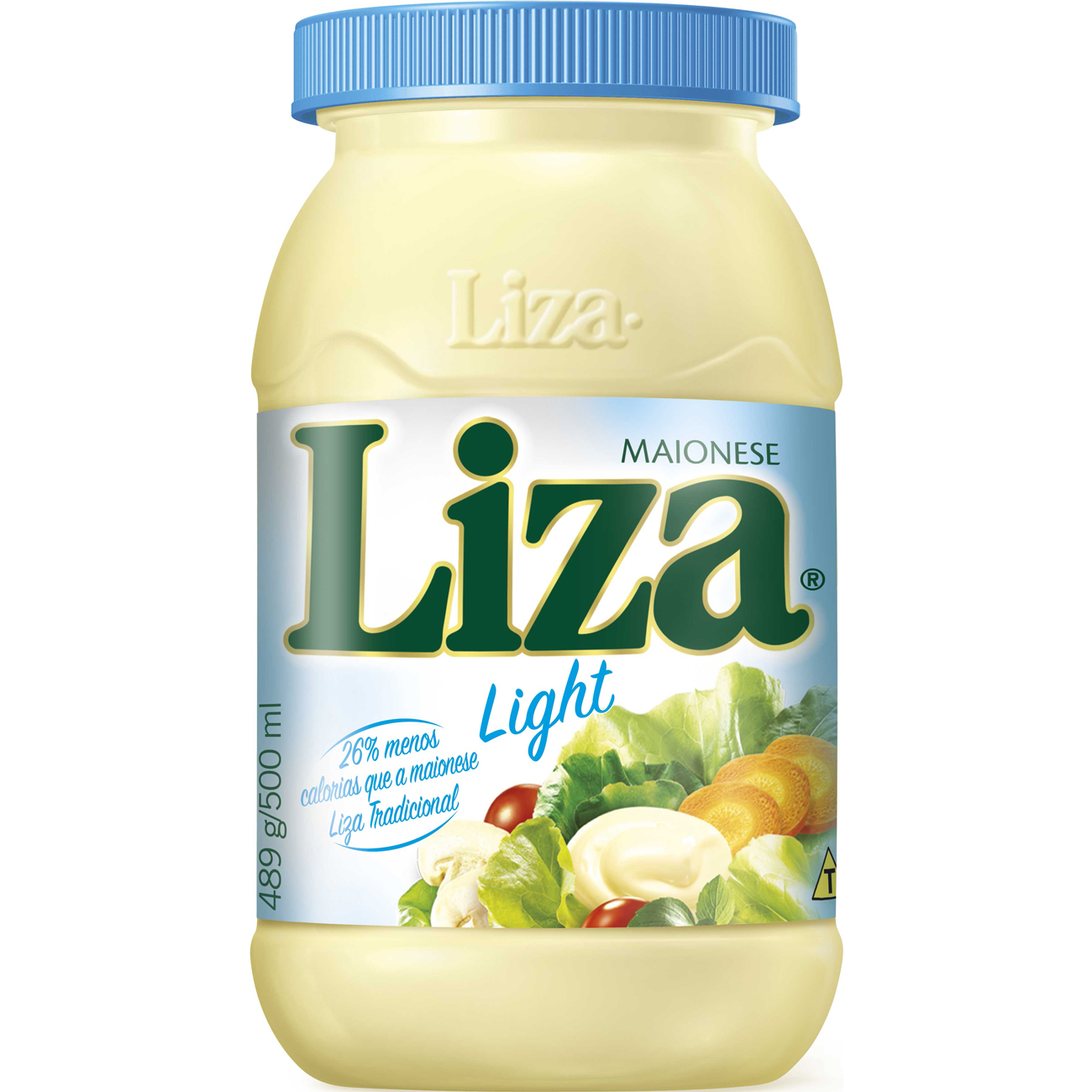 Maionese Liza Light 500g