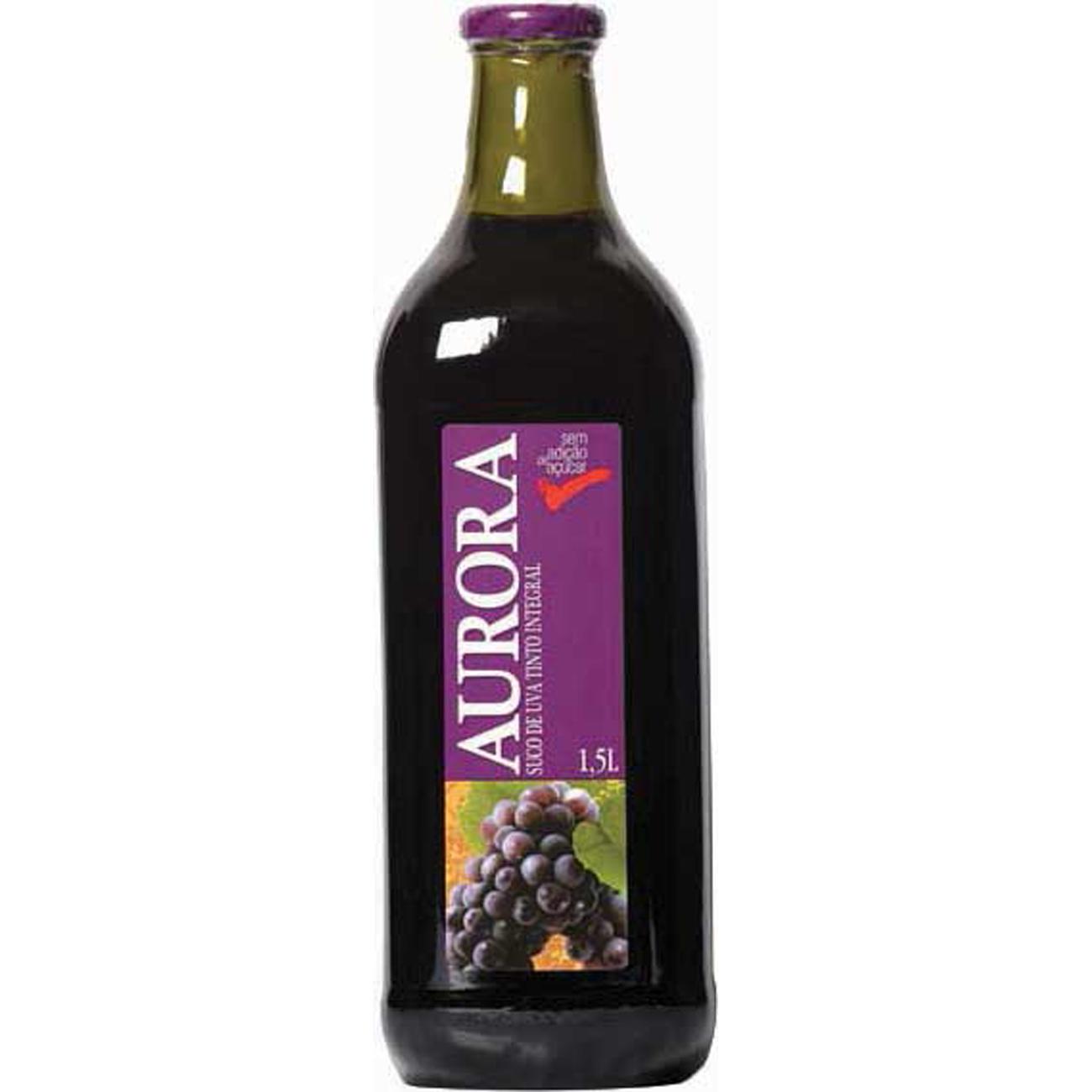 Suco de Uva Aurora Integral 1,5 L