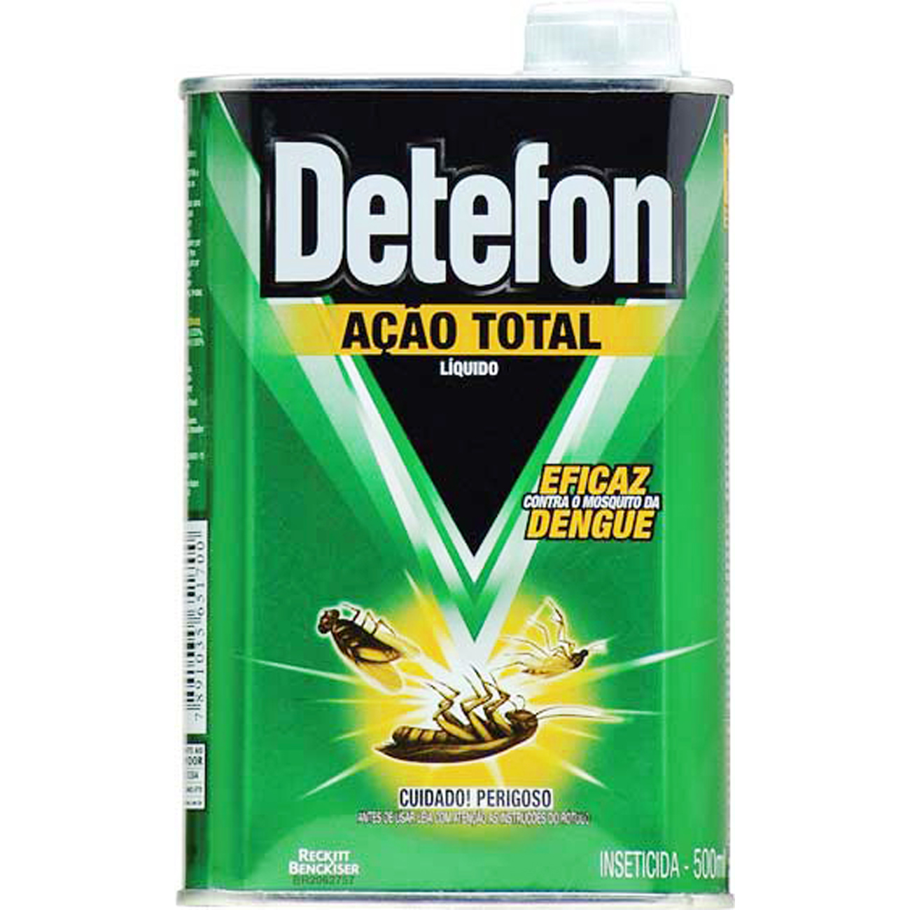 Inseticida Detefon 500Ml Liquido Mata Tudo