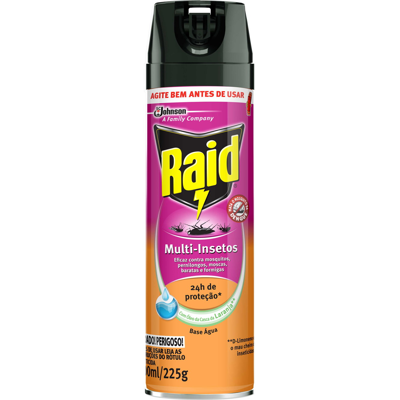 Raid Multi Insetos 285ml 12
