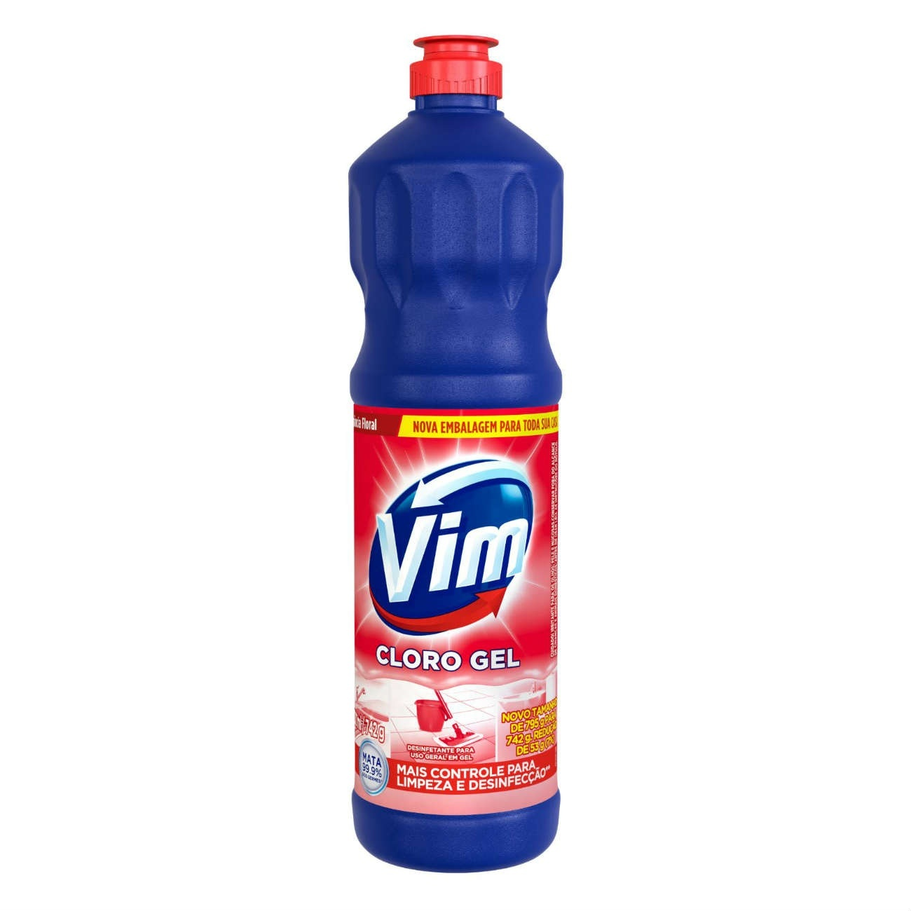 Cloro Gel Vim 700Ml Floral