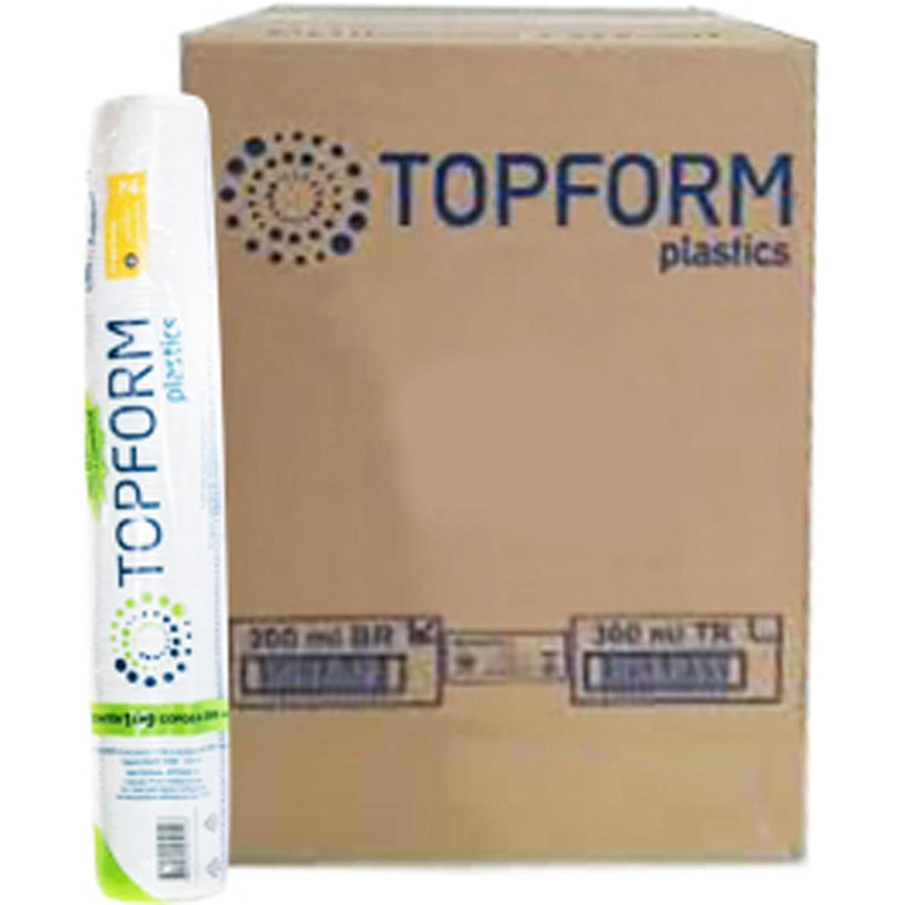Copo Descartavel Topform Agua 200Ml 100Un Branco