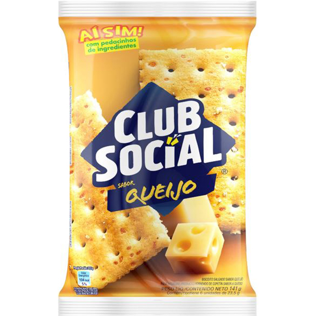 Biscoito CLUB SOCIAL Queijo 141g