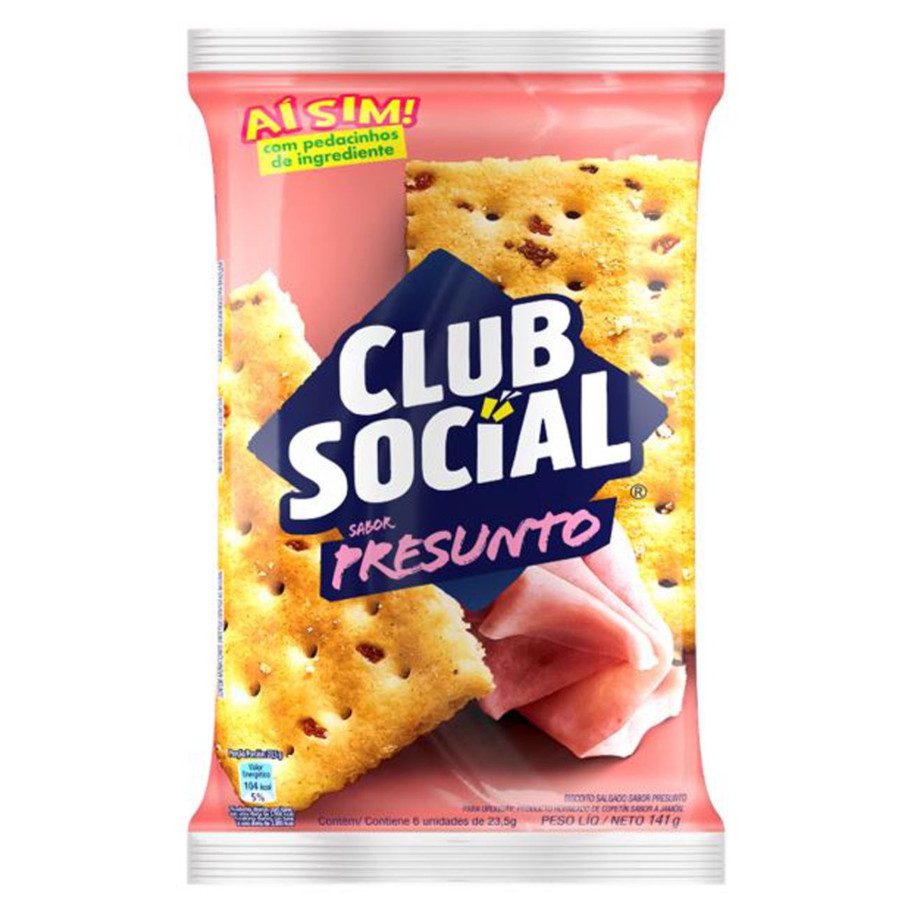 Biscoito Club Social Presunto 141G