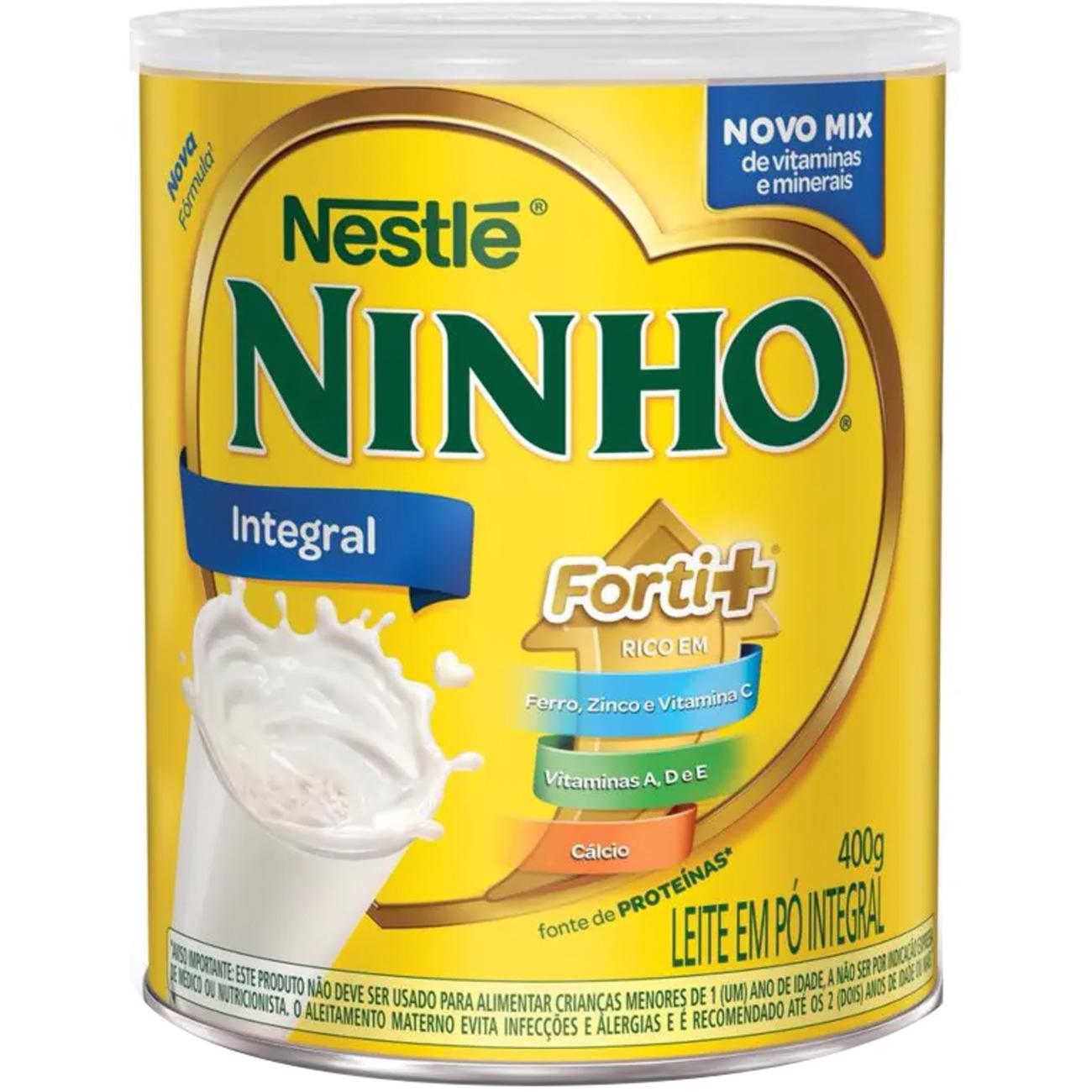 Leite Pó Ninho 400G Integral