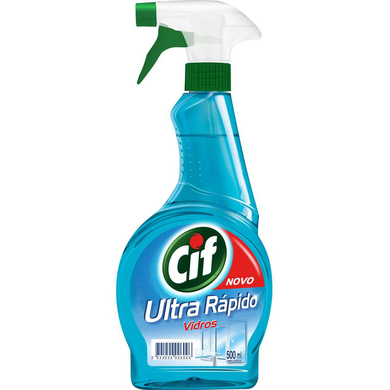 Limpa Vidro Cif Ultra Rapido Gatilho 500Ml