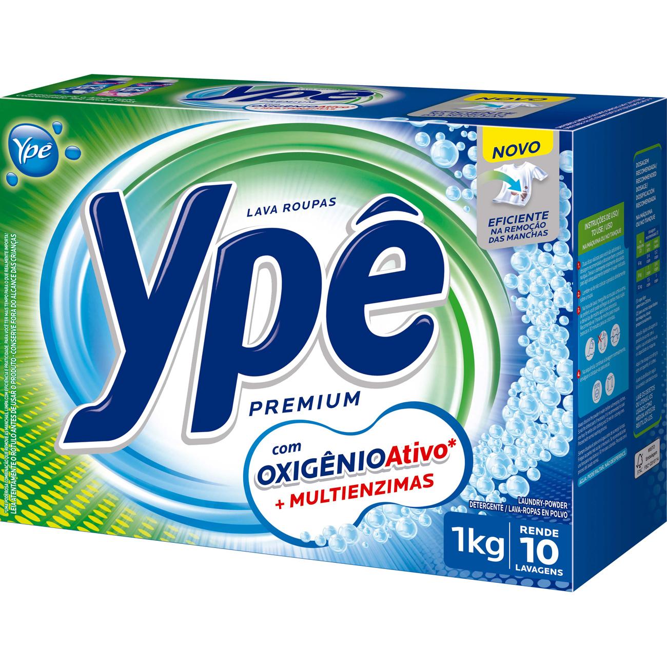 Detergente Em Po Ype Premium 1Kg