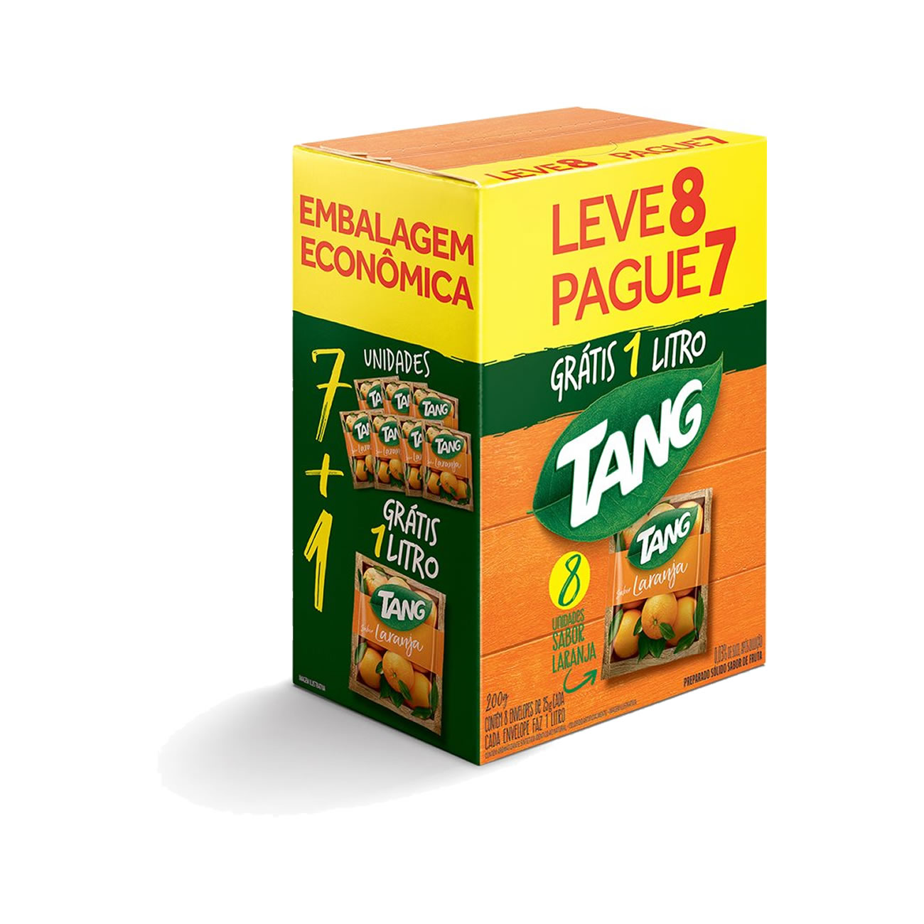 Refresco Tang Laranja Pack Promocional 25 g
