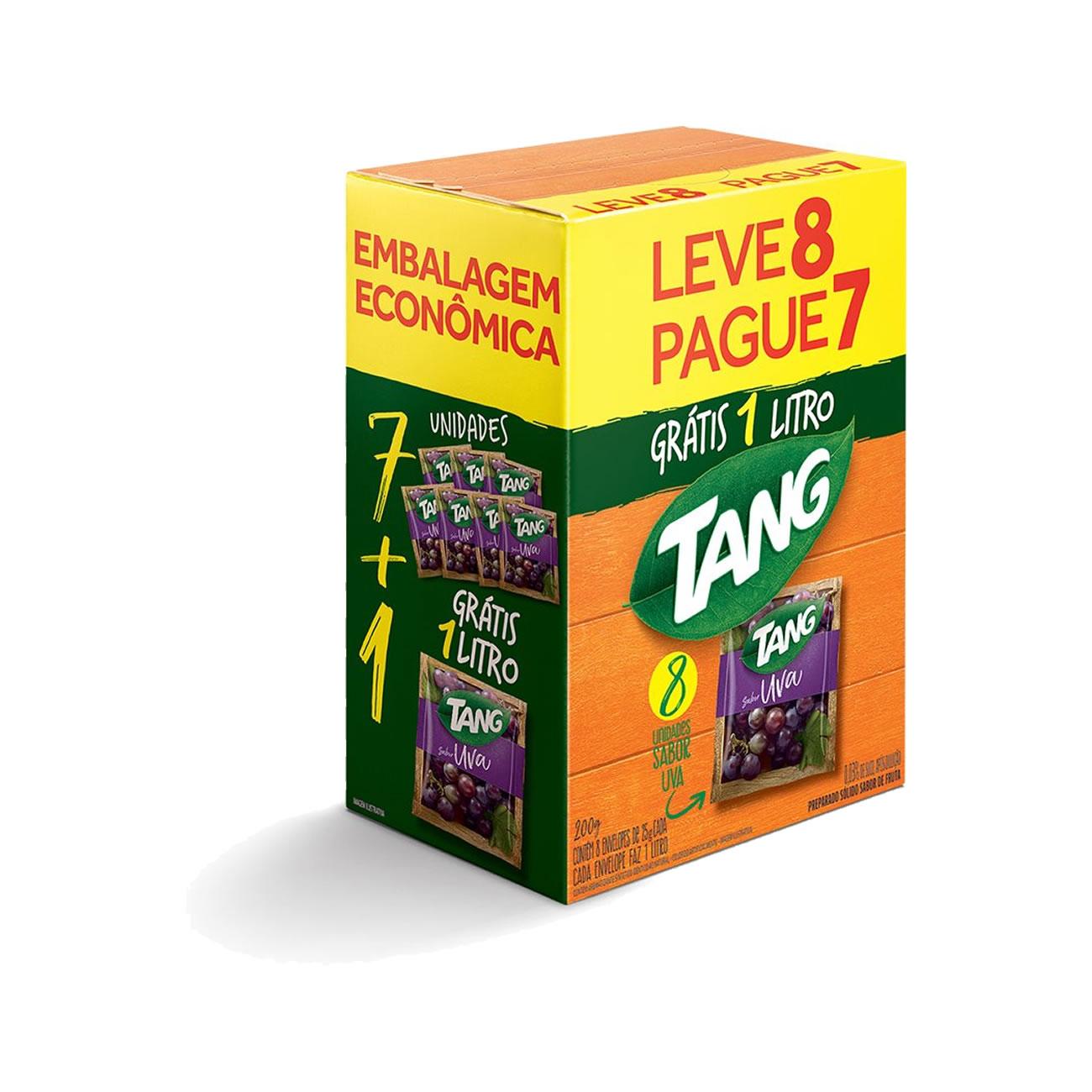 Refresco Tang Uva Pack Promocional 25 g