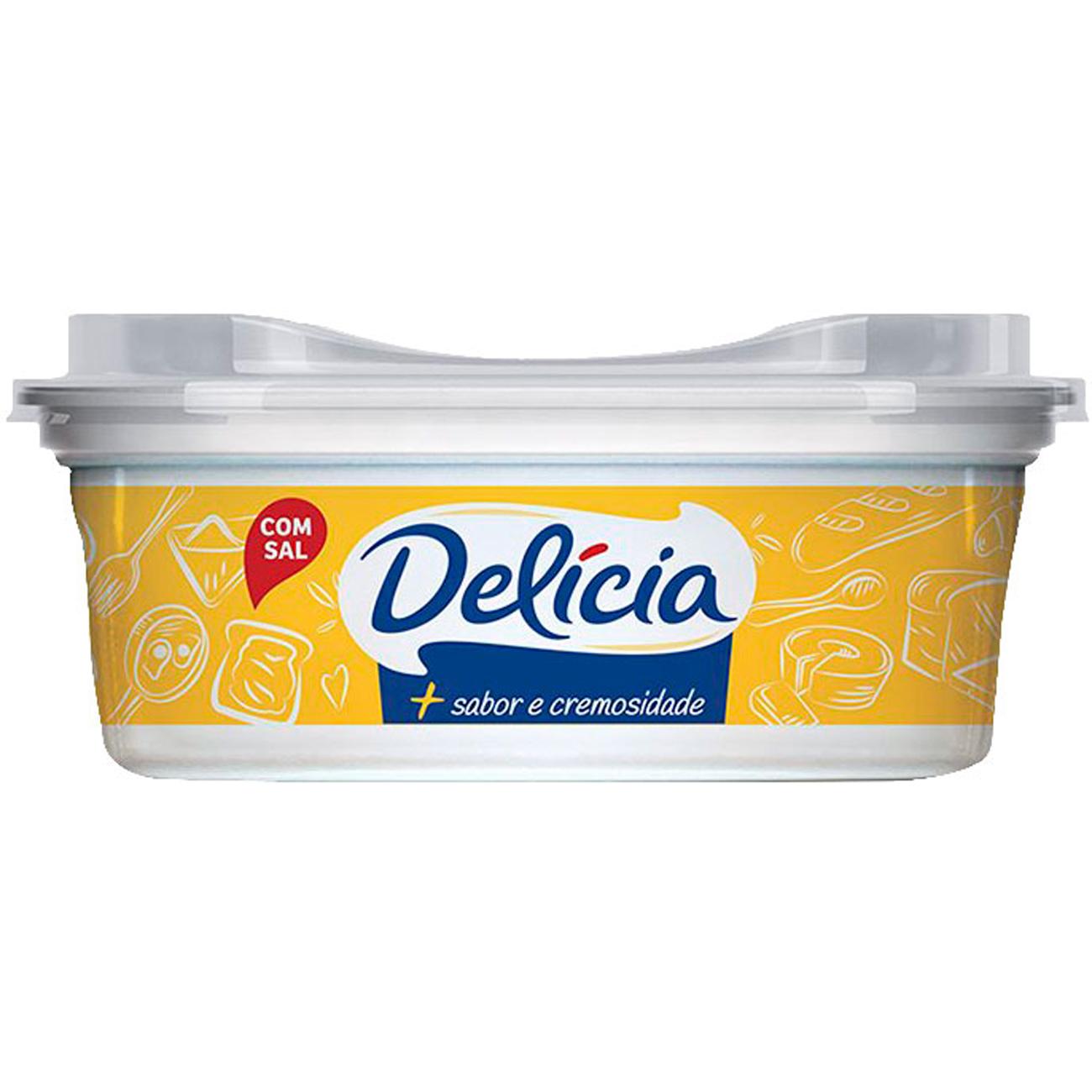 Margarina Delicia Com Sal 250G