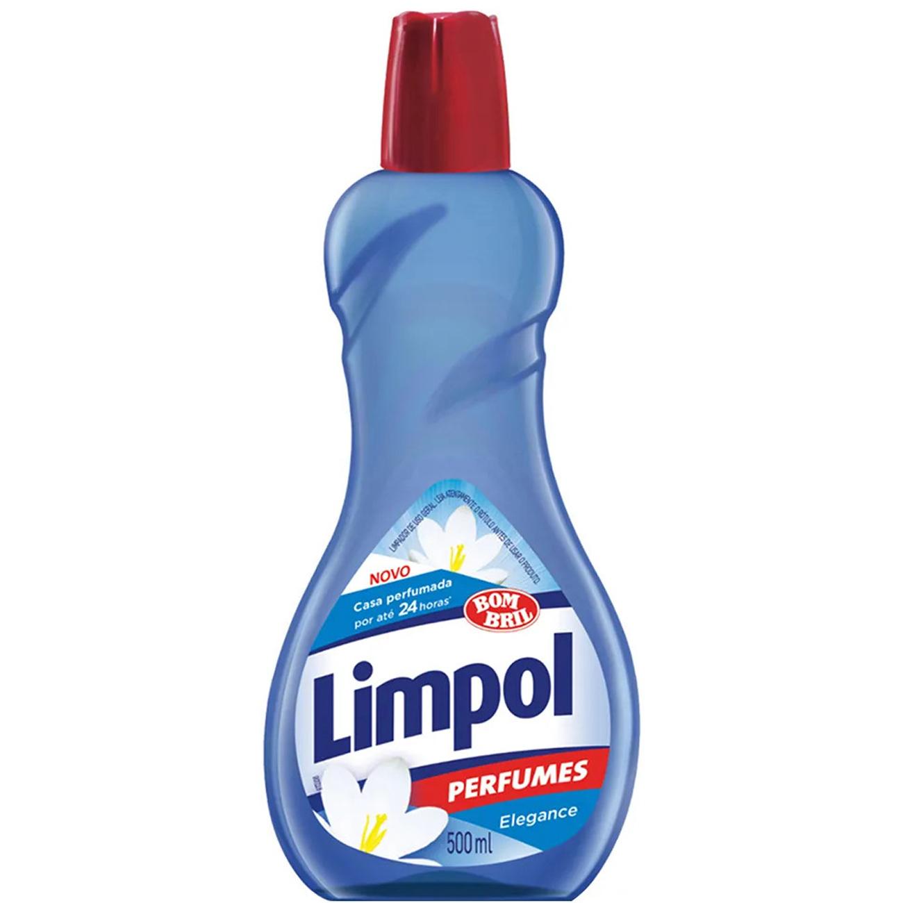 Limpador Perfumado Limpol Elegance 500 Ml