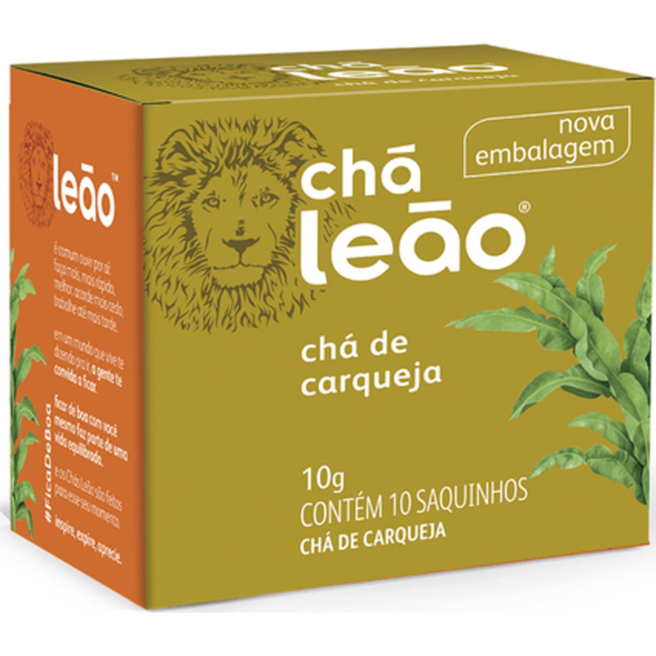 Cha Leao Carqueja 10 Saches
