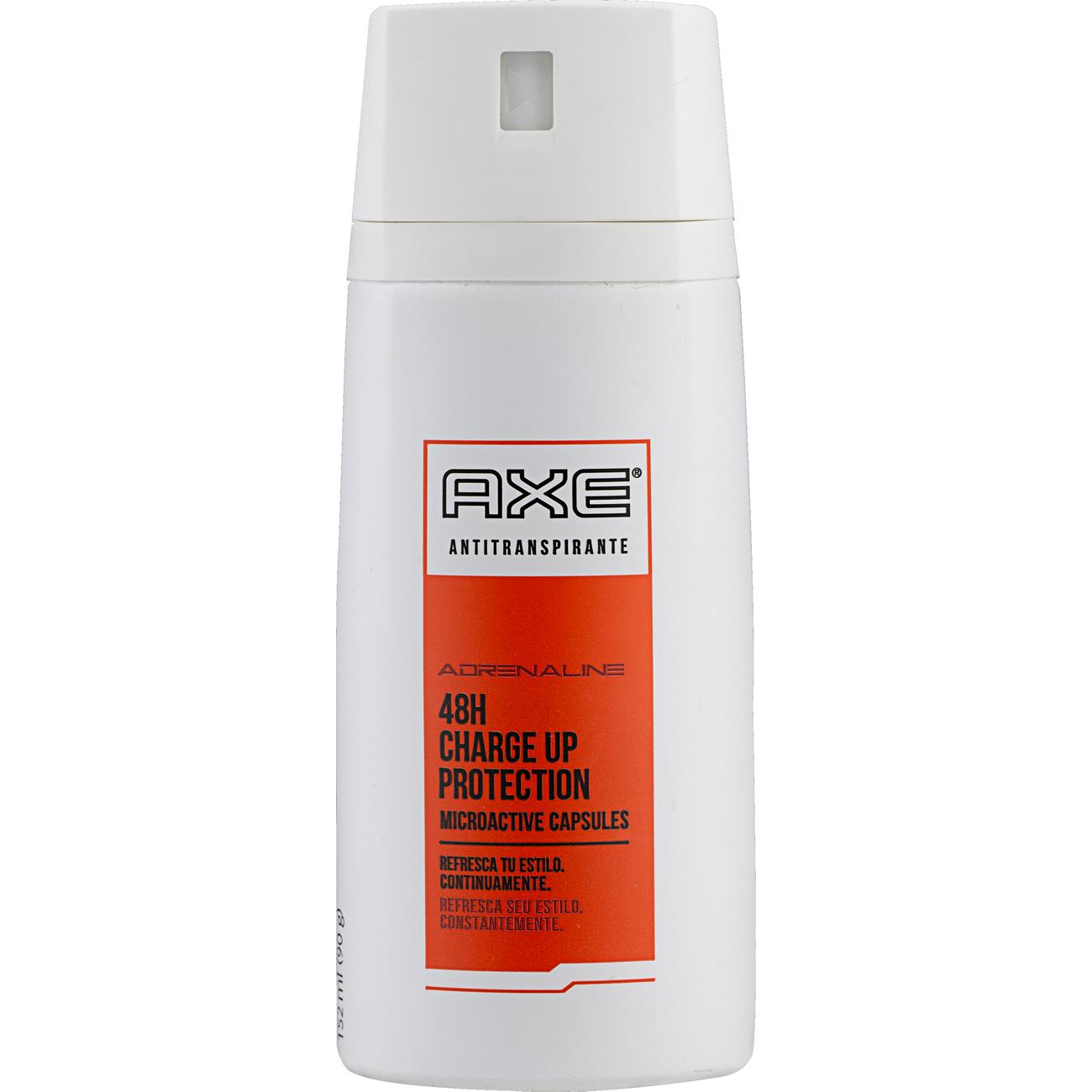 Desodorante Aerossol Axe Adrenaline 152ml