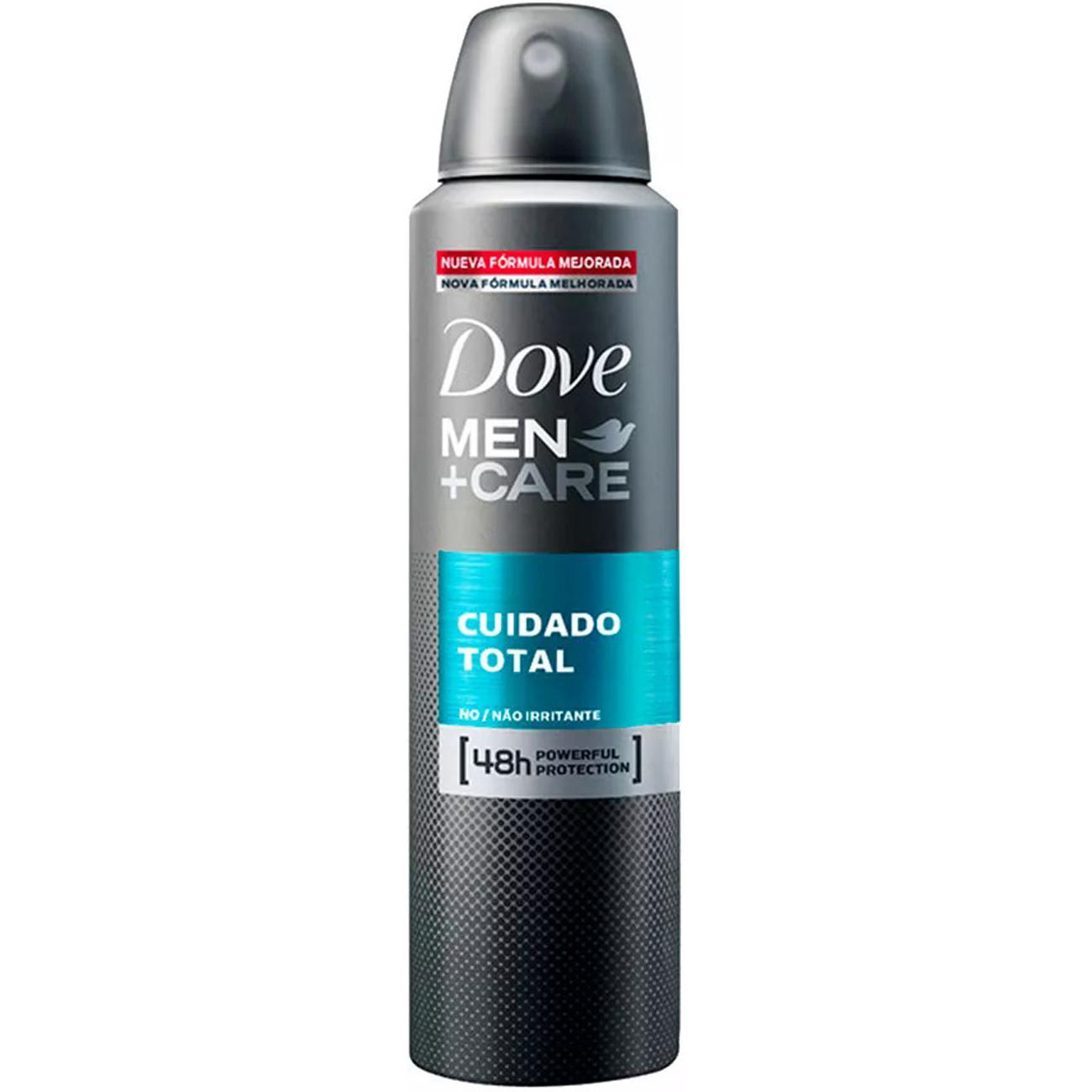 Desodorante Aerossol Dove Men+Care Cuidado Total 150Ml
