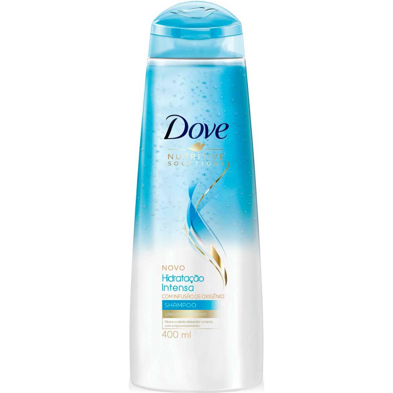 Shampoo Dove Hidratacao Intensa Oxigenio 400Ml
