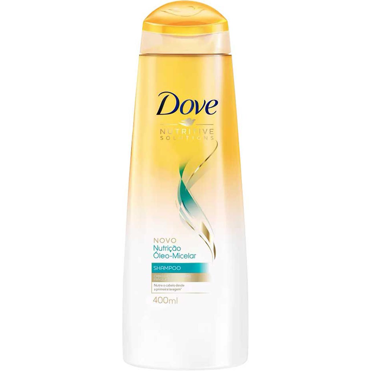 Shampoo Dove Nutricao Oleo Micelar 400Ml