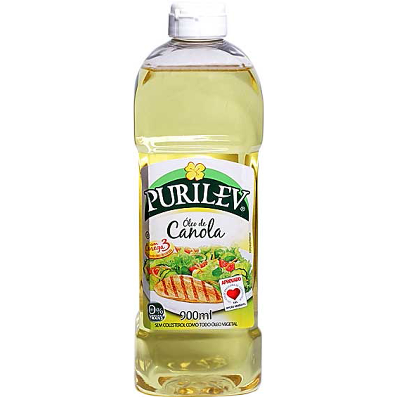 Oleo De Canola Purilev 900ml