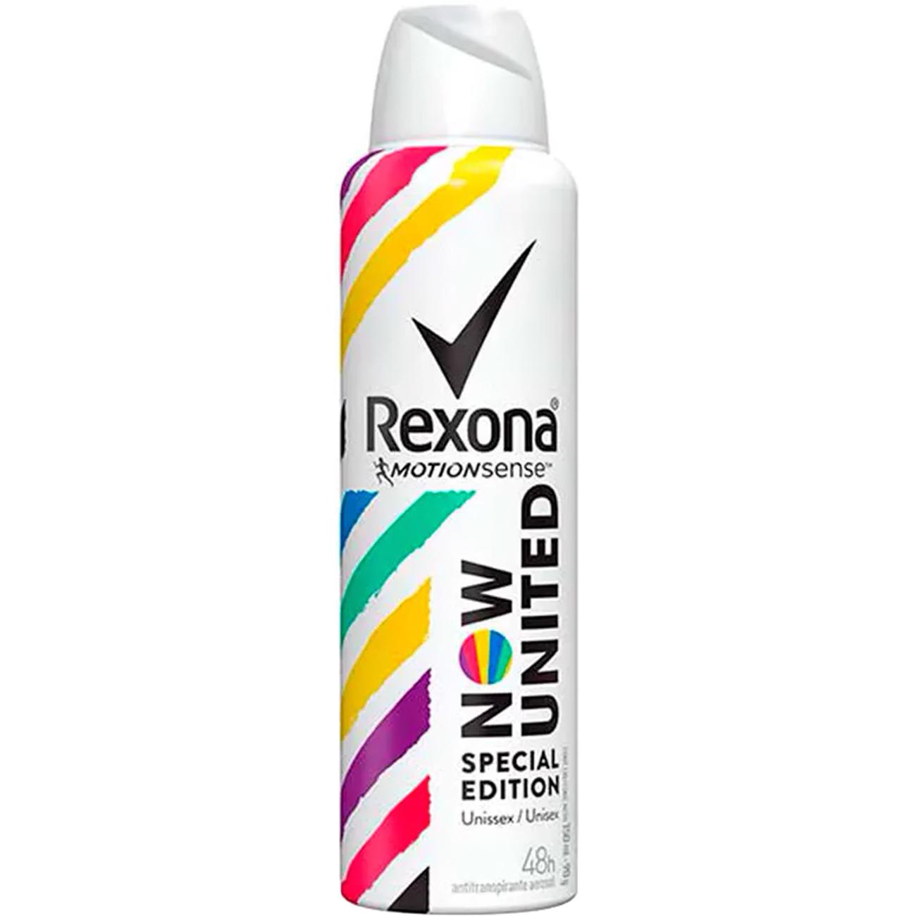 Desodorante Aerossol Rexona Now United 150Ml