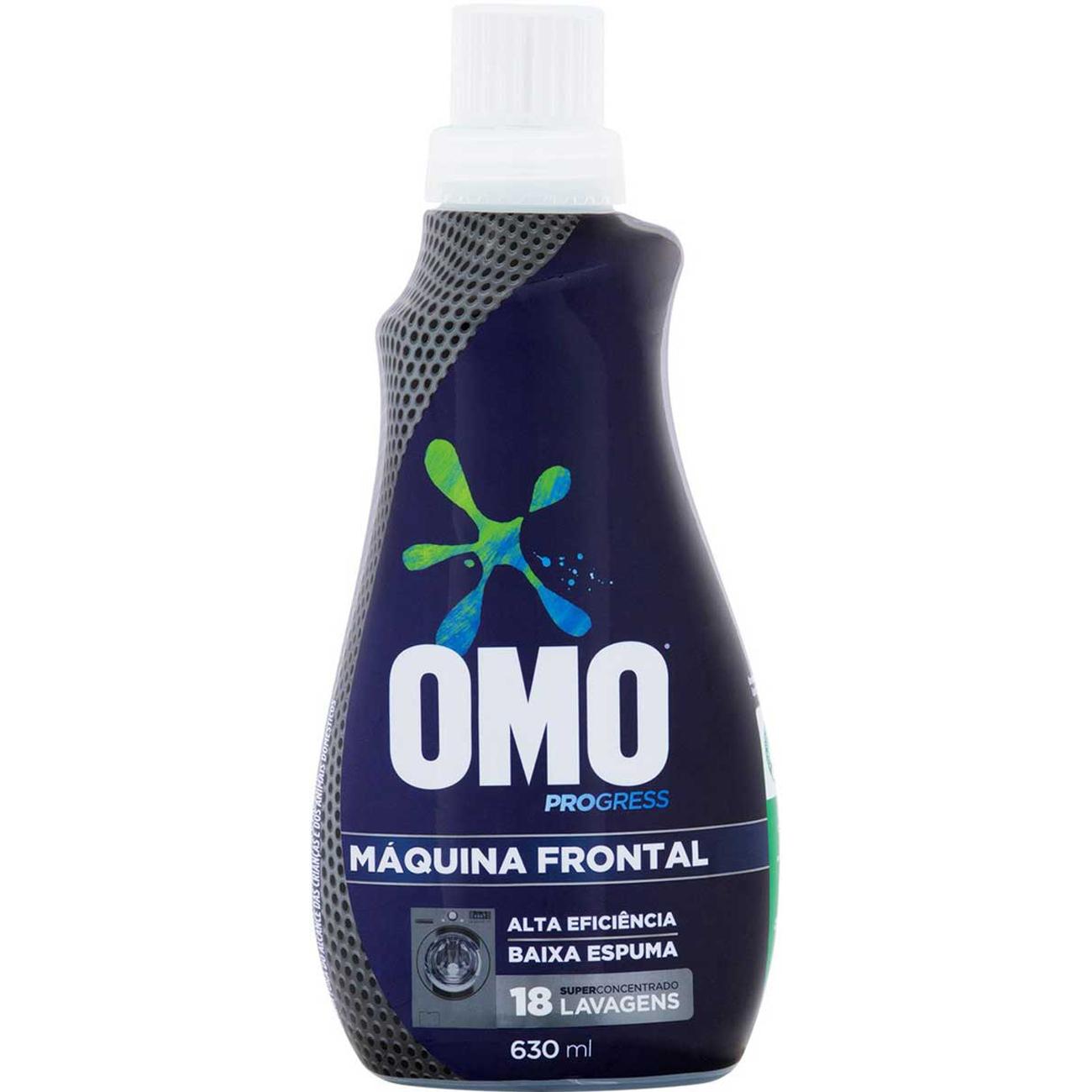 Lava Roupas Liquido Super Concentrado Omo Progress 630Ml