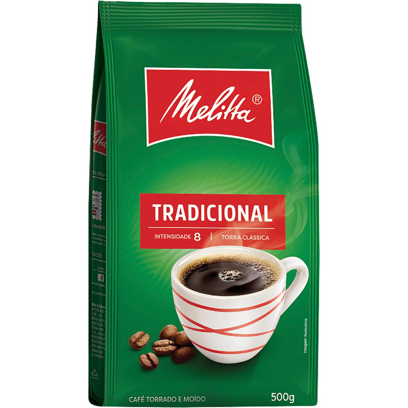 Cafe Melitta Pouch Tradicional 500G