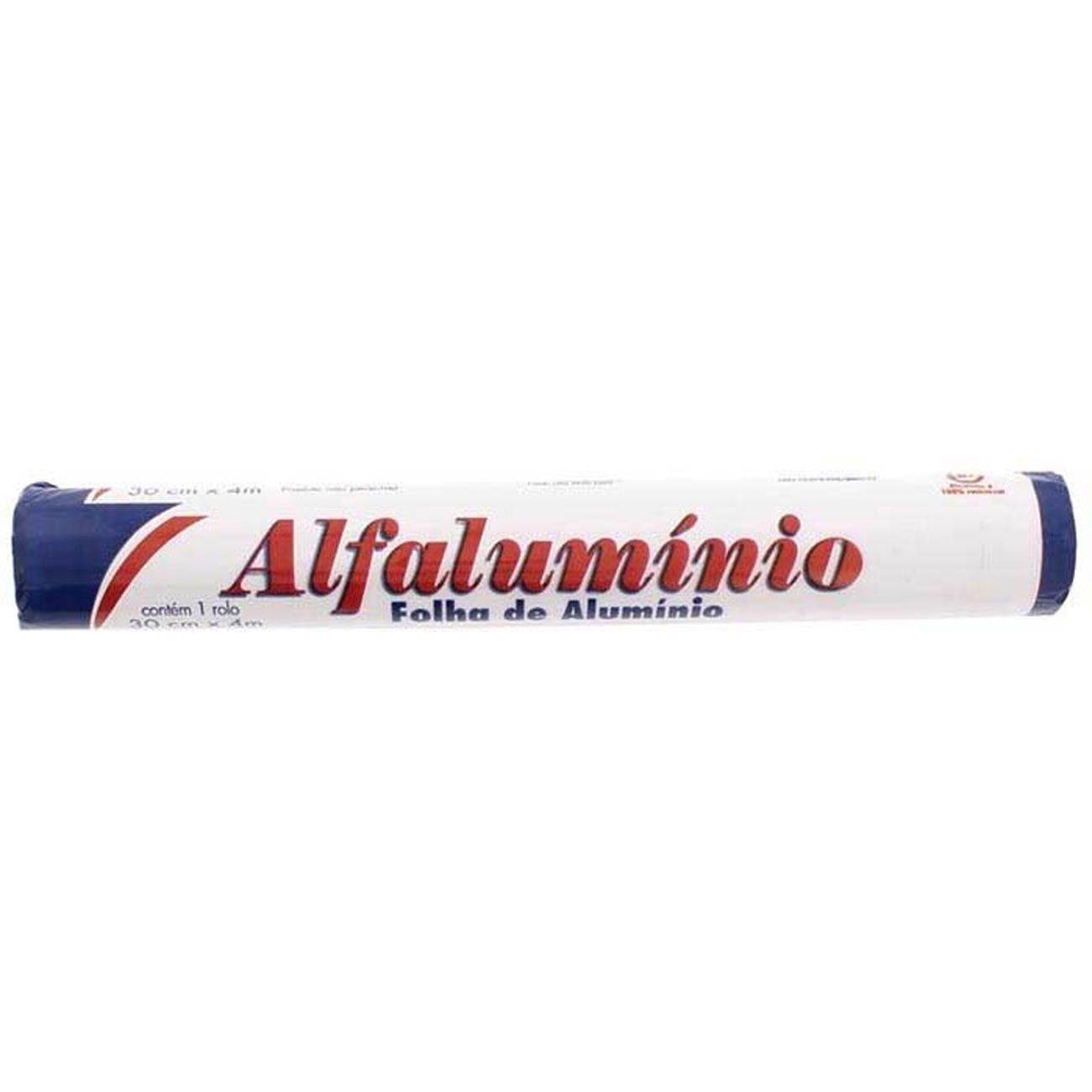 FOLHA ALUMINIO ALFALUMINIO 4X45CM