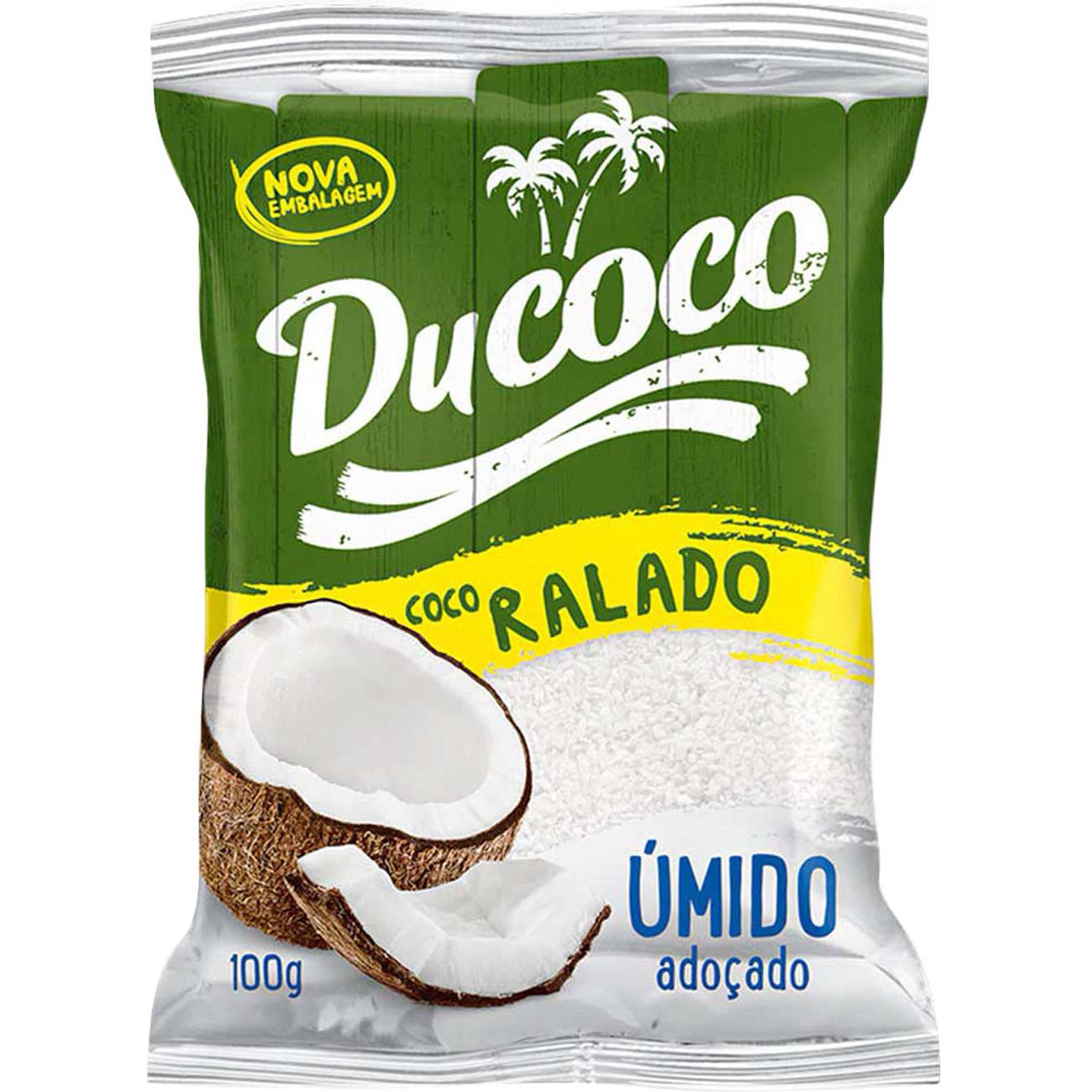 Coco Ralado Ducoco Umido E Adocado 100G