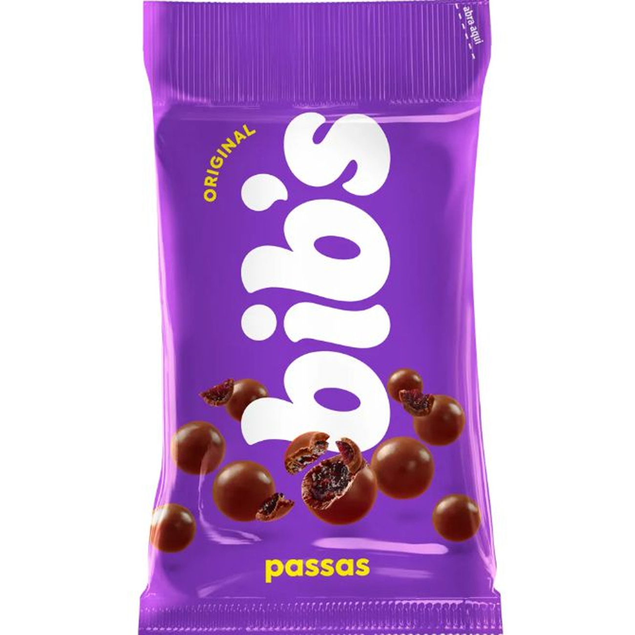 Chocolate Bib'S Passas 40G