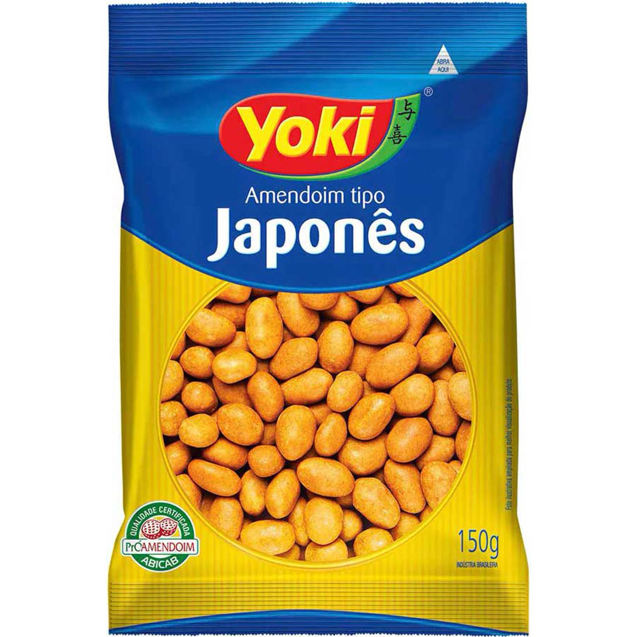 Amendoim Yoki Japones 150G