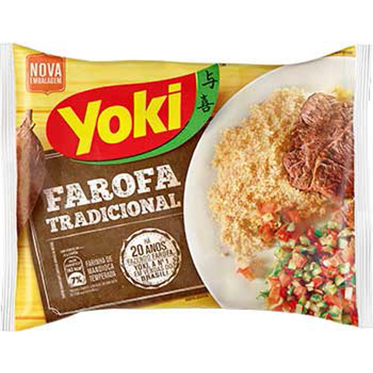 Farofa Mandioca Pronta Yoki 250G