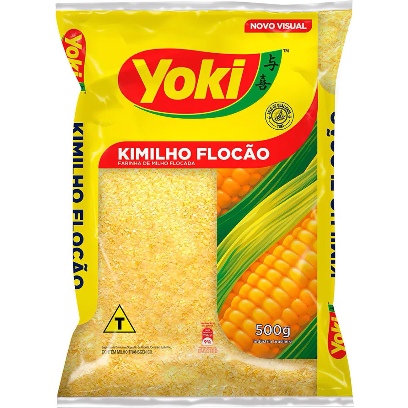 Farinha Kimilho Yoki Flocao 500G