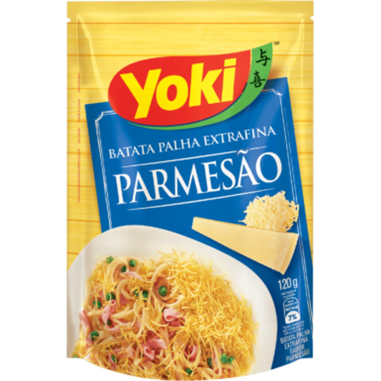 Batata Palha Yoki Parmesao 120G