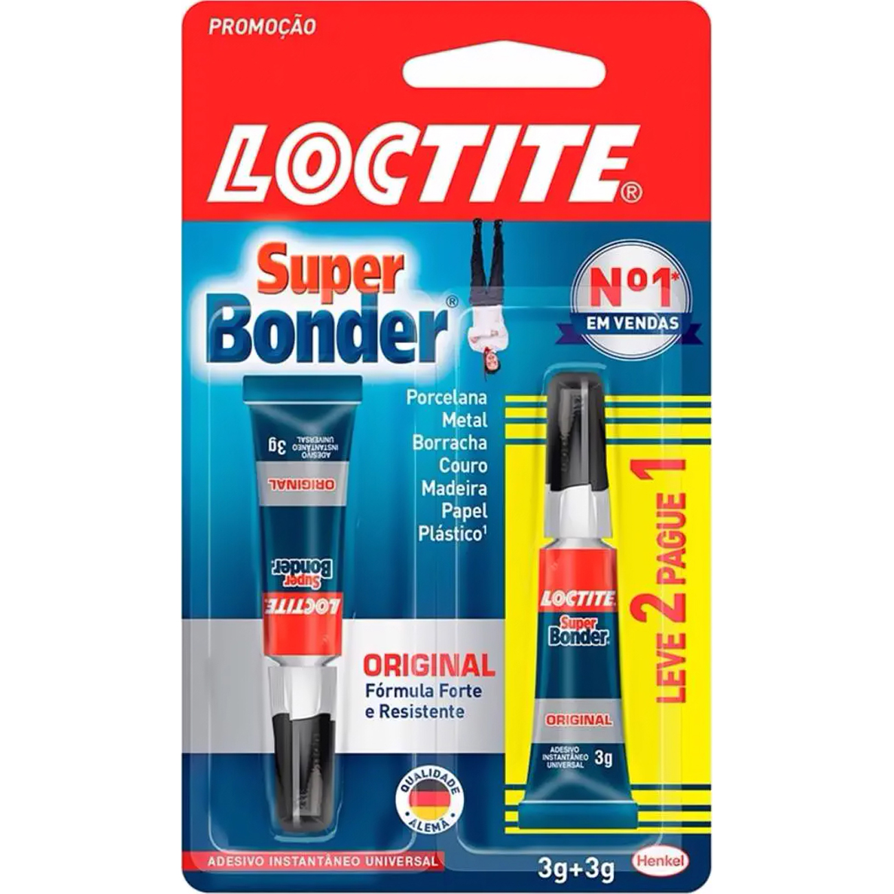 Loctite Super Bonder 3g Leve 2 Pague 1