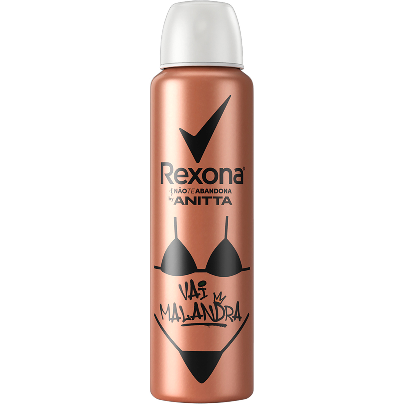 Desodorante Rexona Aerosol by Anitta Vai Malandra 150mL