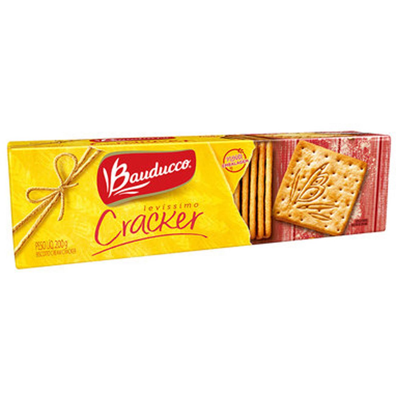 Biscoito Bauducco Levissimo Cracker 200G