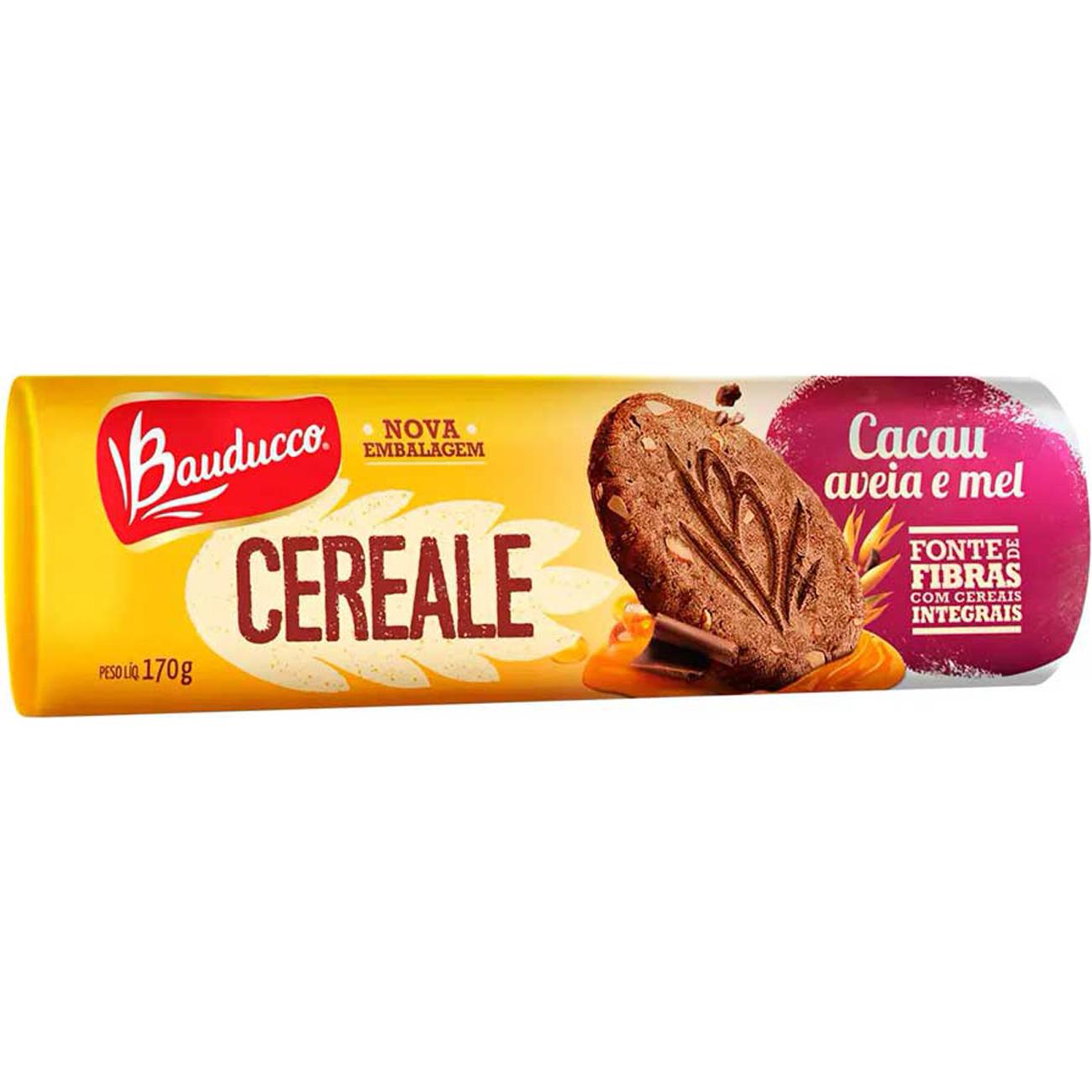 Biscoito Bauducco170G Cereale Cacau