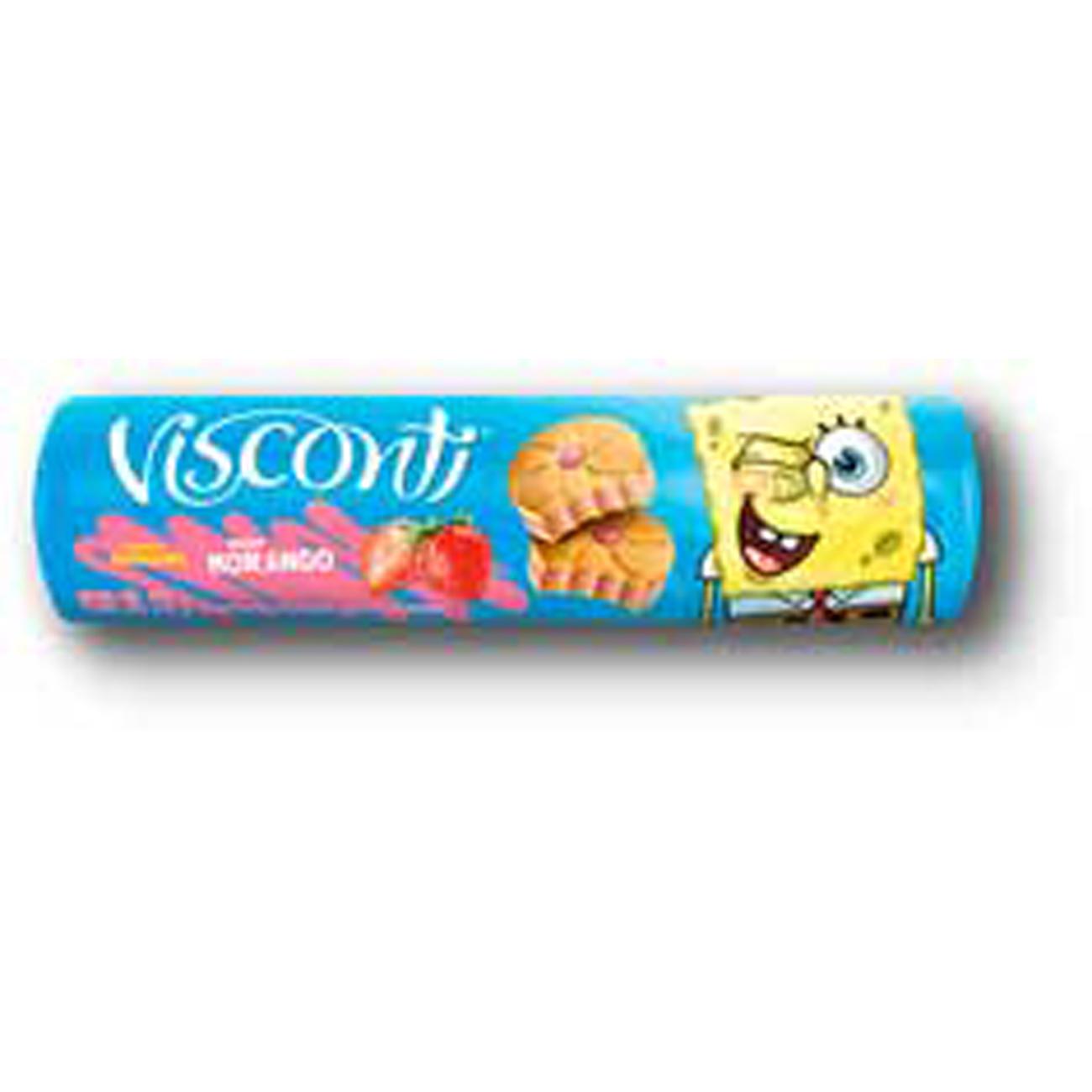 Biscoito Visconti 125G Rech Morango