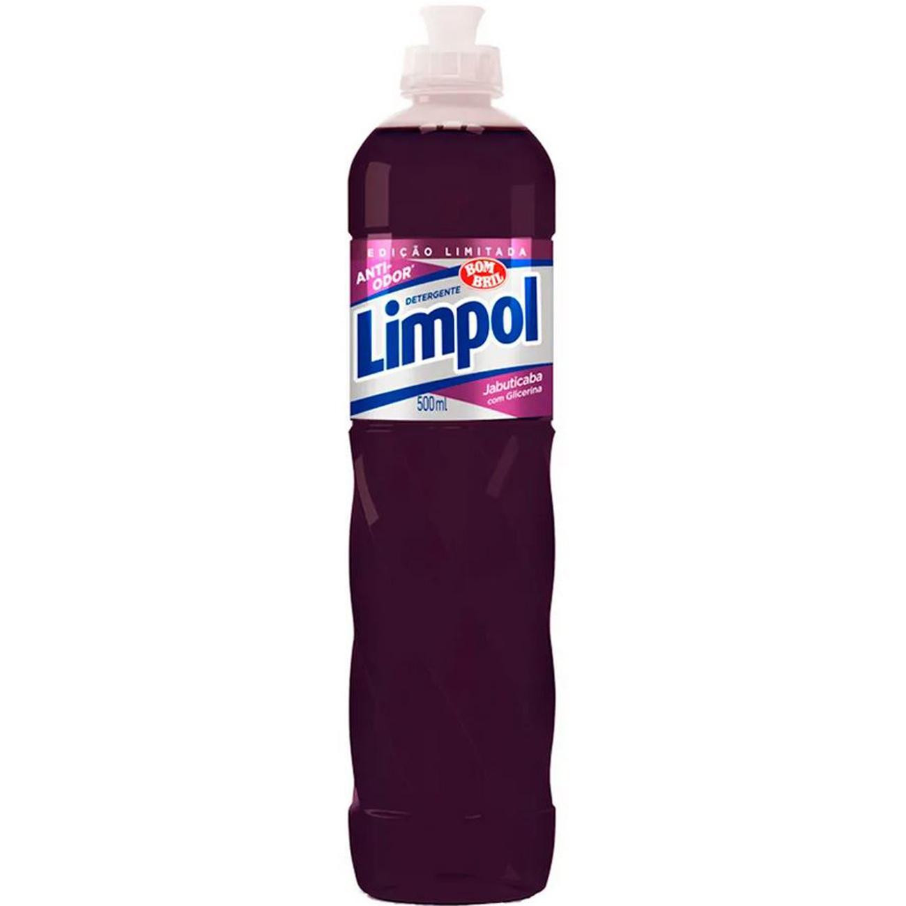 Detergente Liquida Limpol 500Ml Jabuticaba