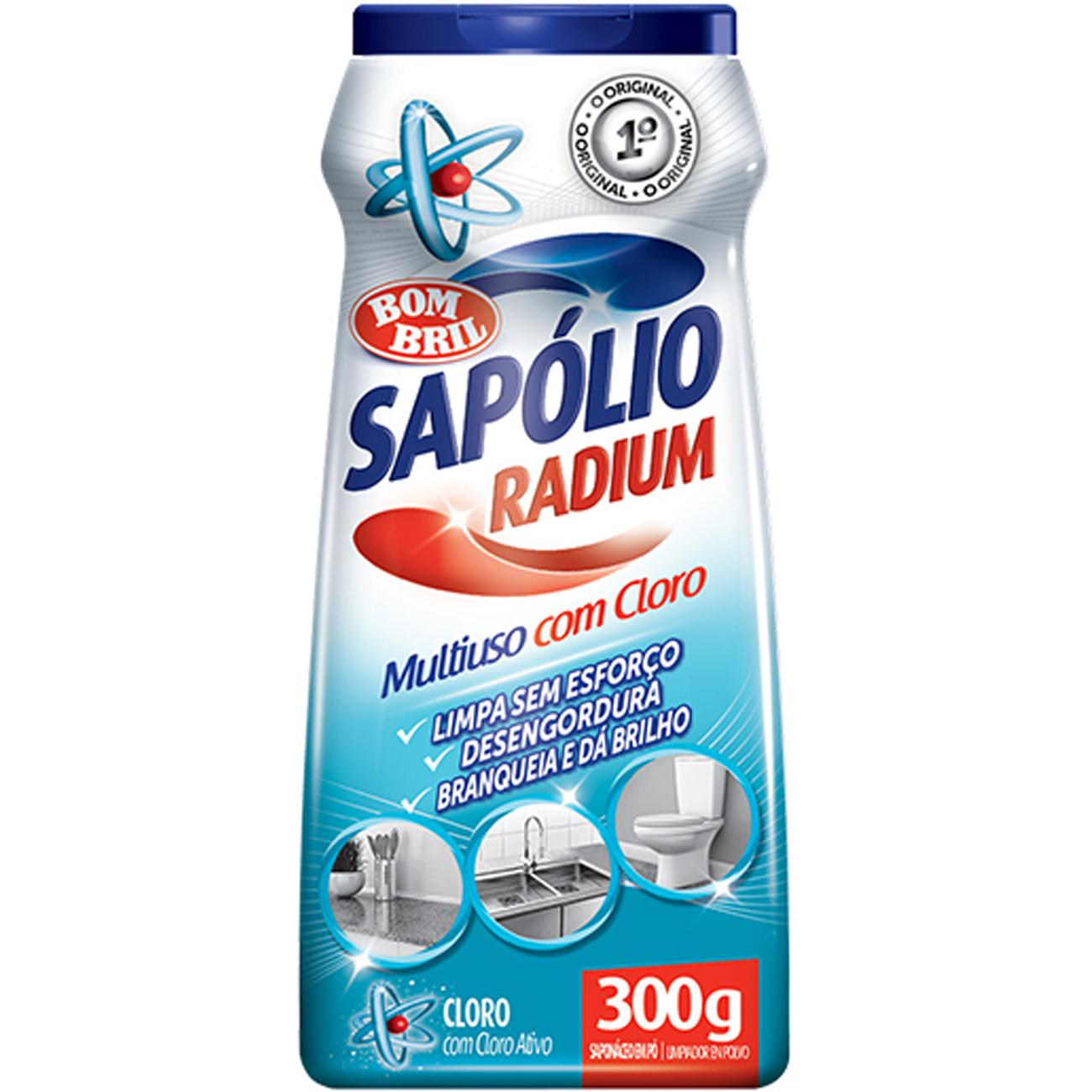 Sapolio Radium Po 300G Cloro