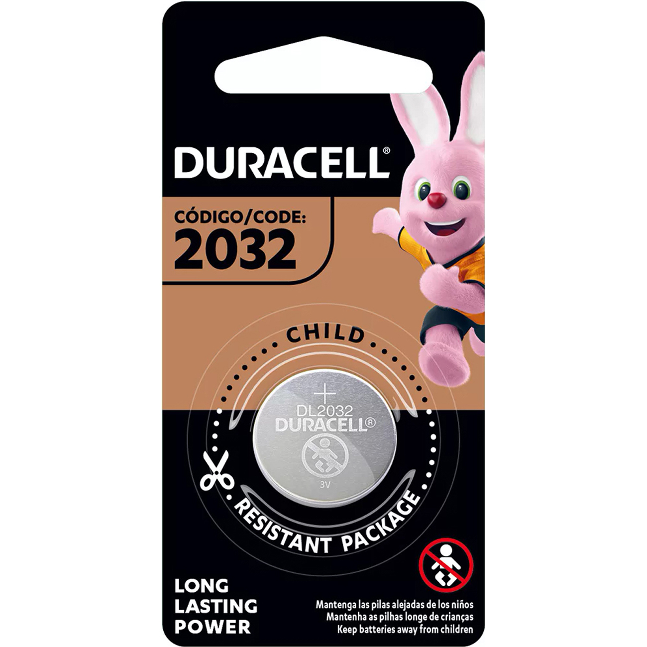 BATERIA DURACELL LITIO METALICO CR2032