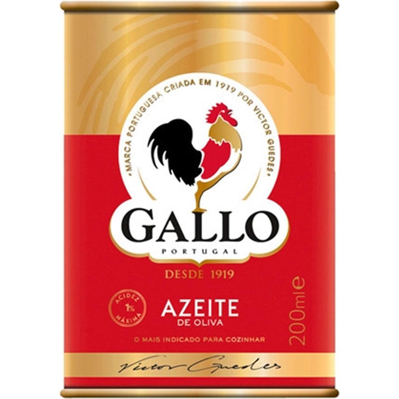 AZEITE GALLO 200ML LT