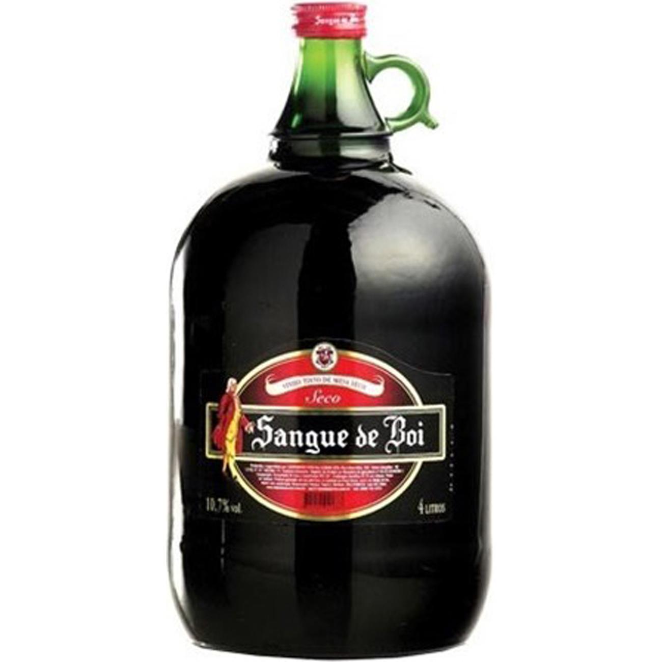 Vinho Sangue de Boi 4L Ttsc