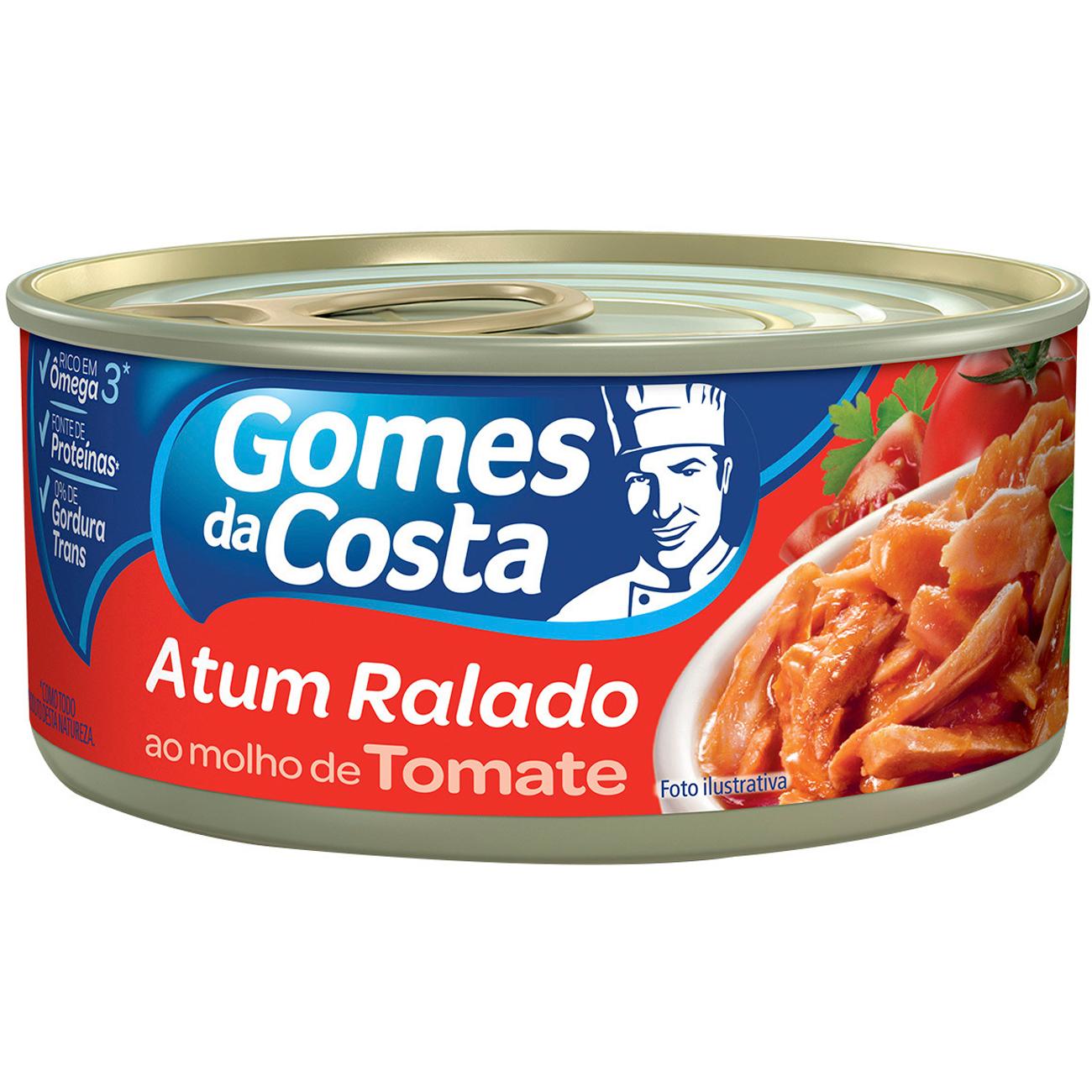 Atum Gomes Da Costa Ralado Tomate 170G