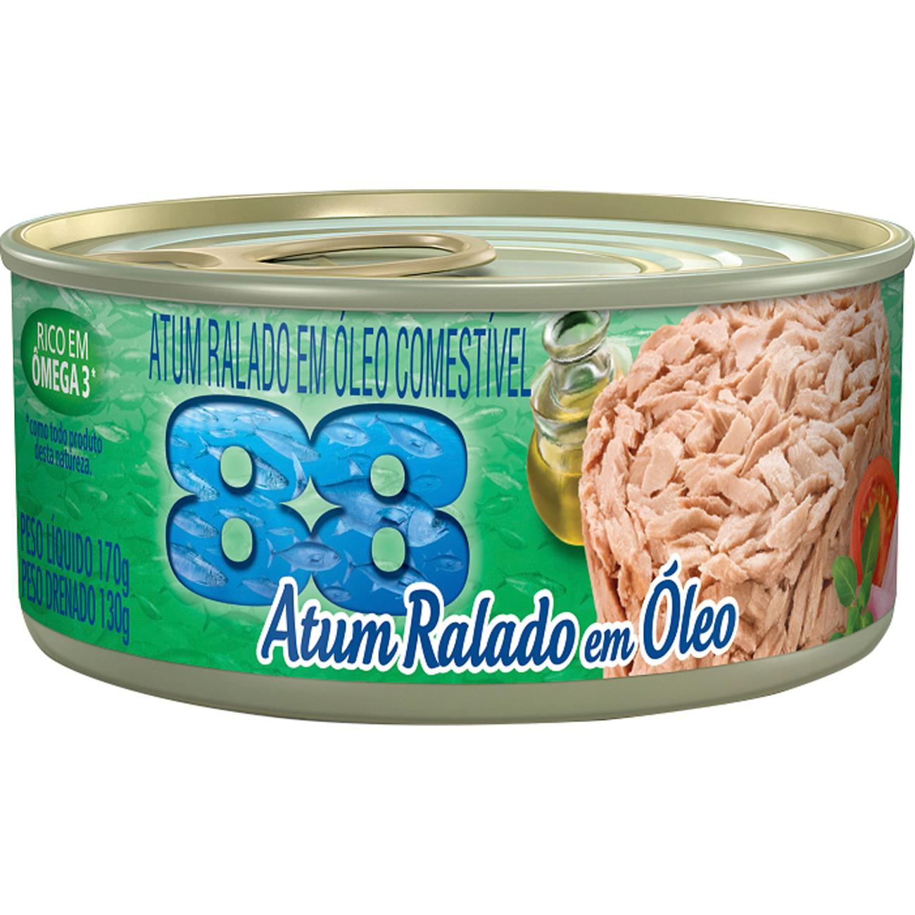 Atum 88 Ralado Oleo 170G
