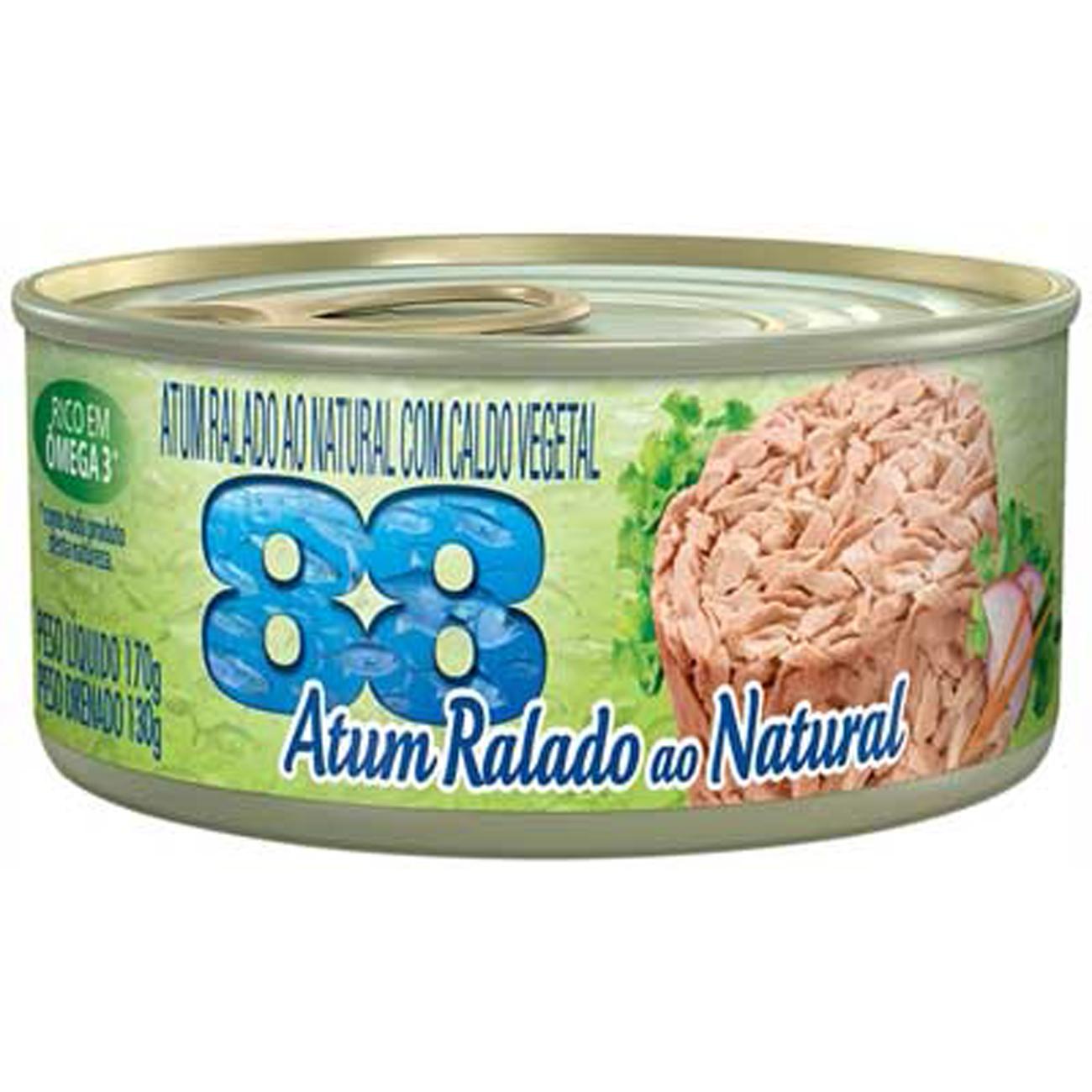 Atum 88 Ralado Natural Light 170G