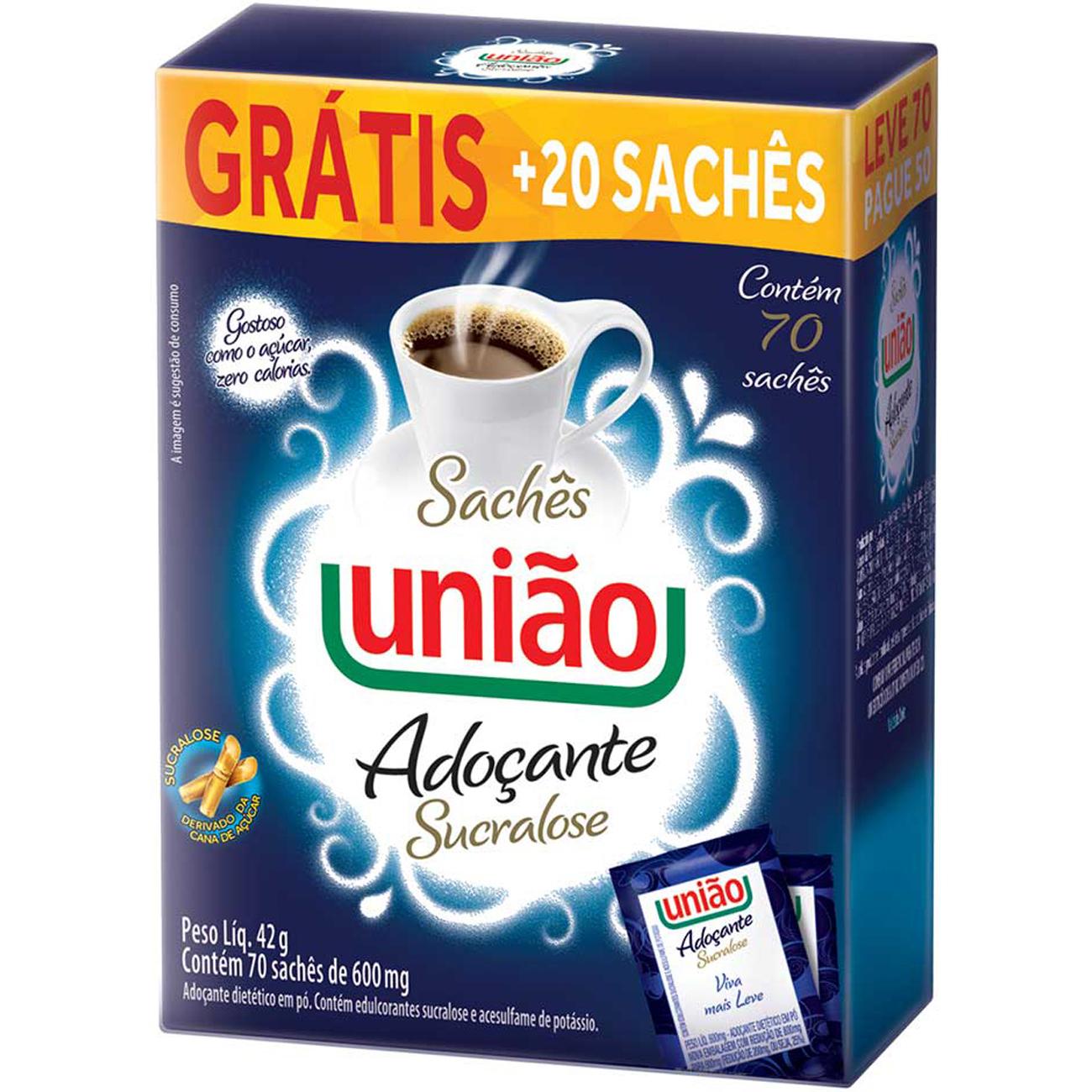 Adocante Po Uniao Sucraloseleve 70 Pague 50 Un