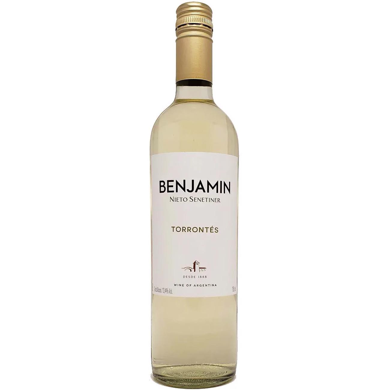 Vinho Benjamin Nieto 750Ml Torrontes