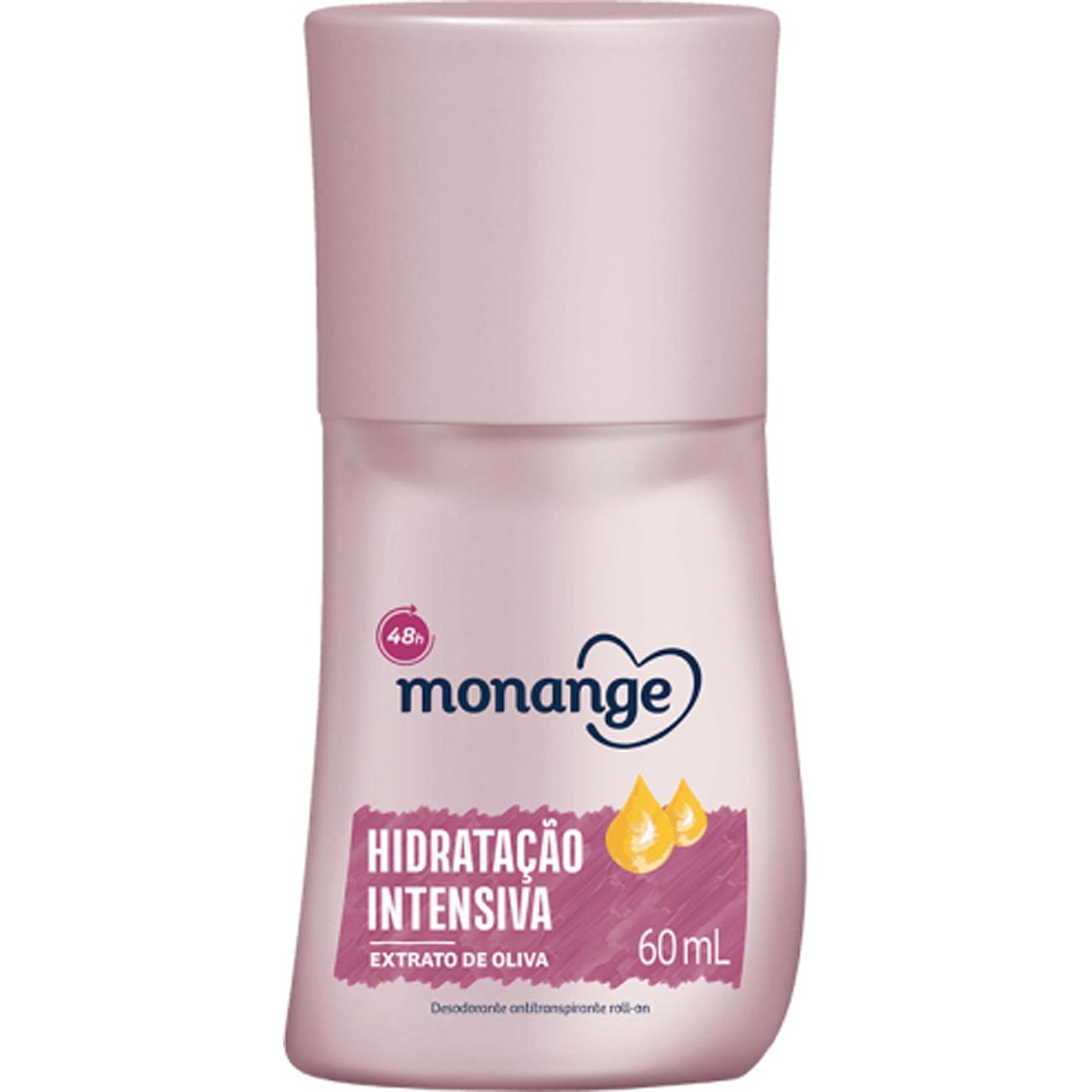 Desodorante Monange Roll-On 60Ml Hidratante Intensiva