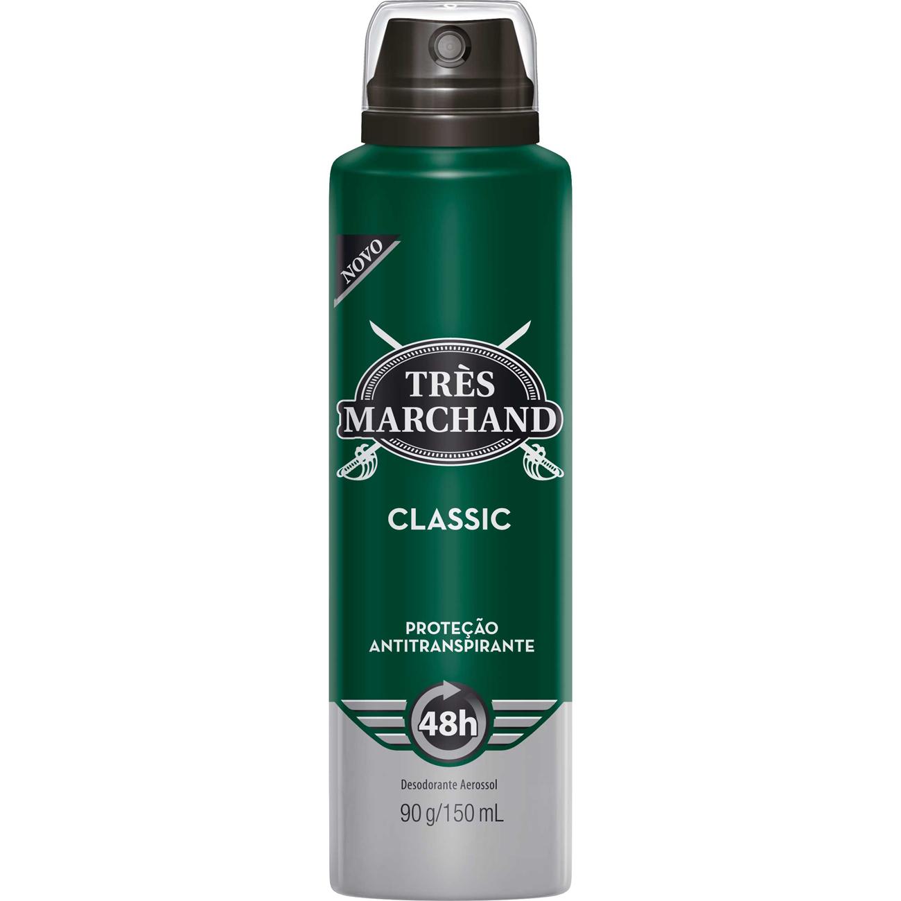 Desodorante Tres Marchand Aero 90G Trad